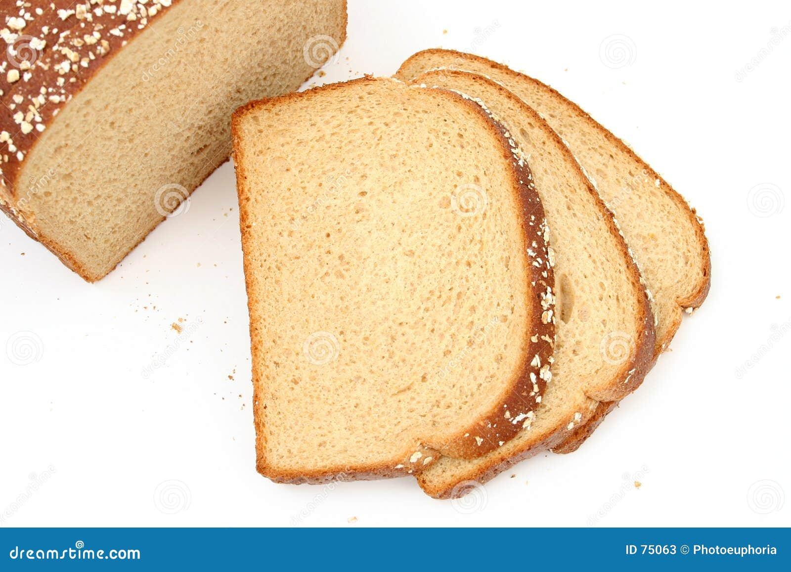 Pão delicioso do trigo do mel