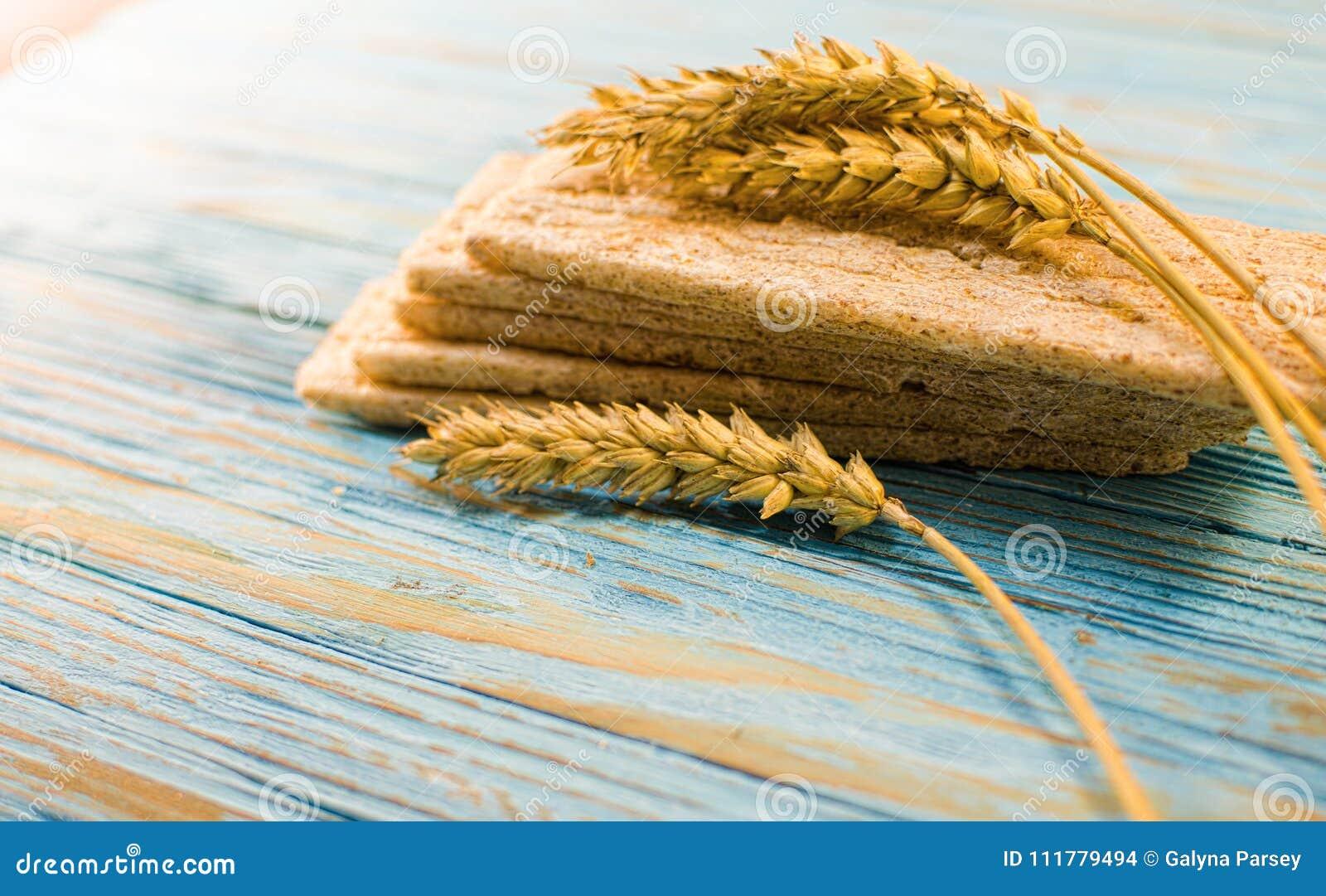 Pão dietético feito dos cereais