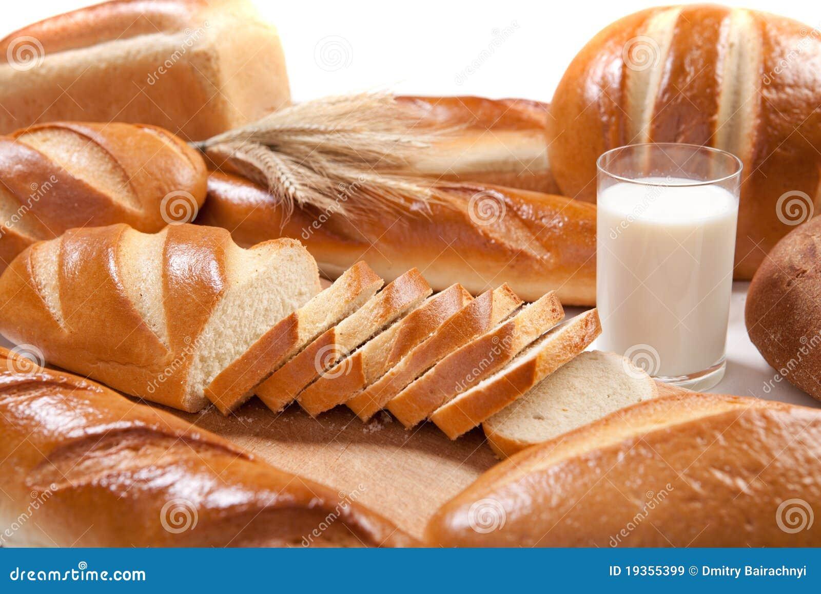 Pão e leite