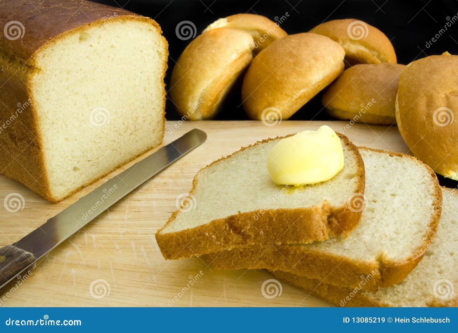 Pão e manteiga