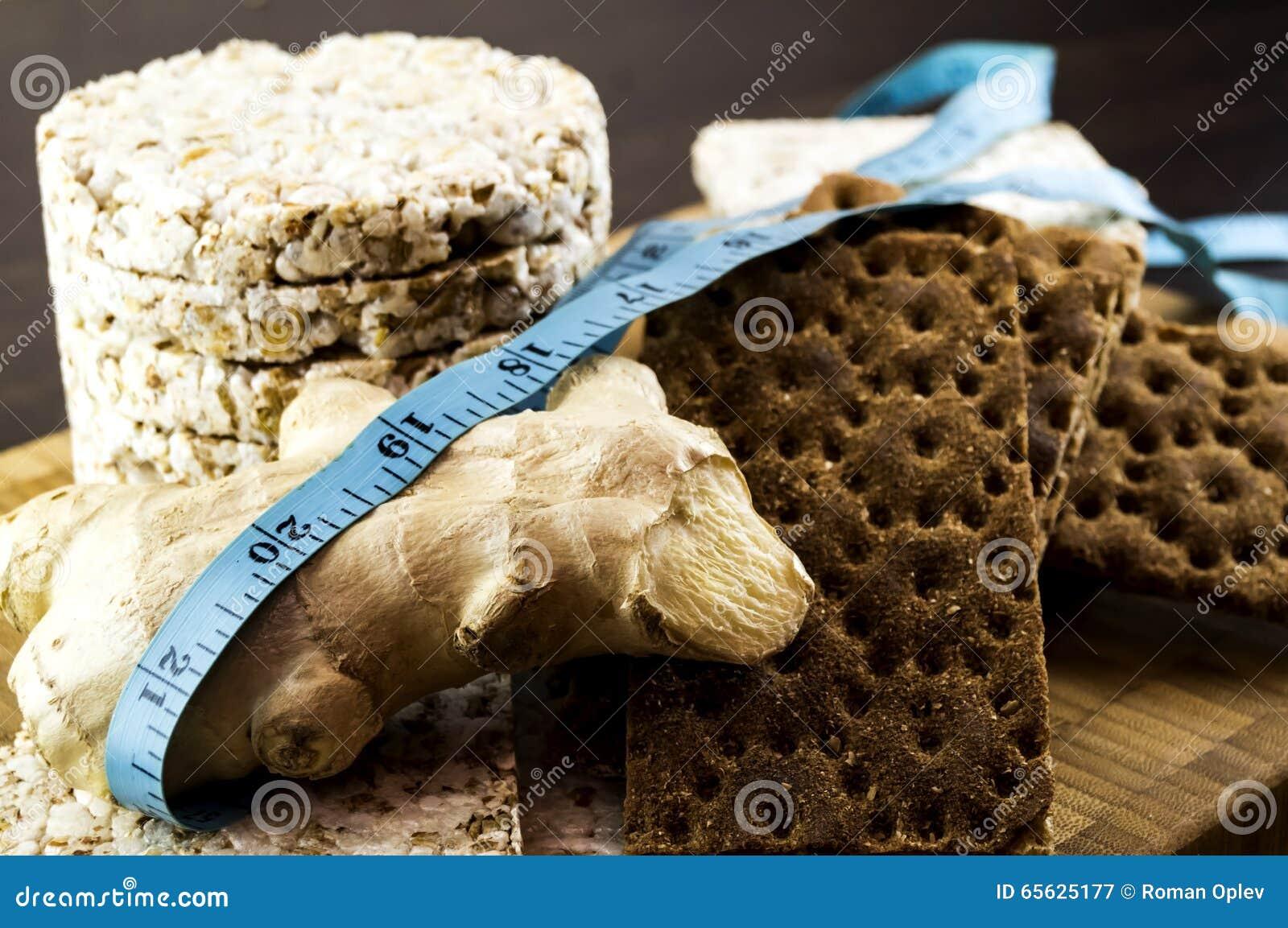 Pão estaladiço e gengibre