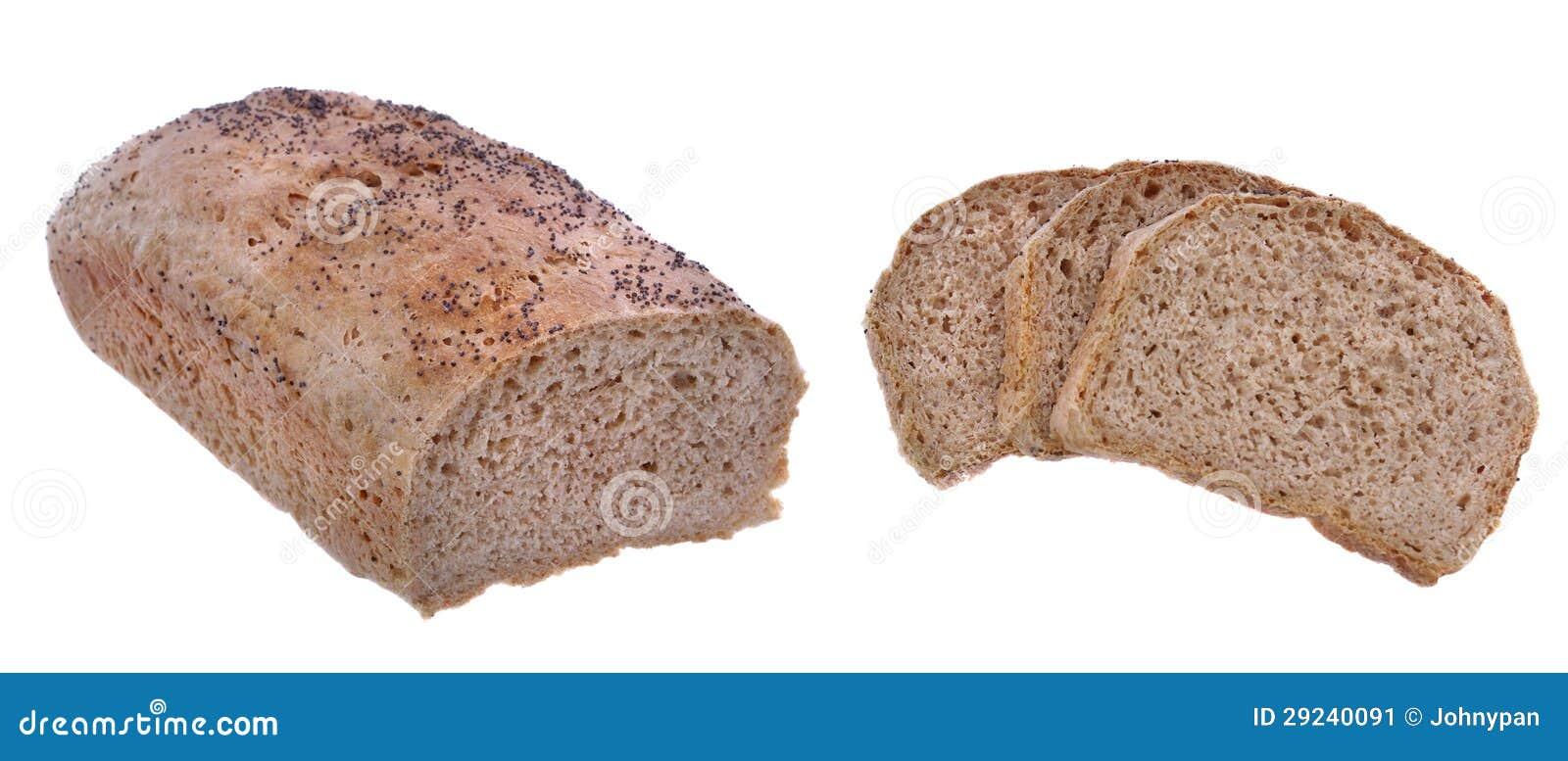Download Pão isolado imagem de stock. Imagem de refeição, saúde - 29240091