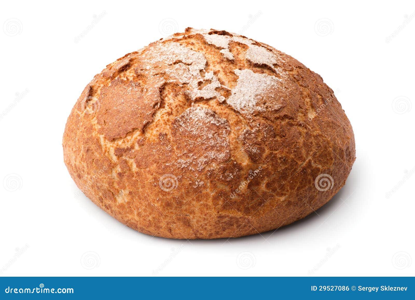 Pão redondo caseiro tradicional