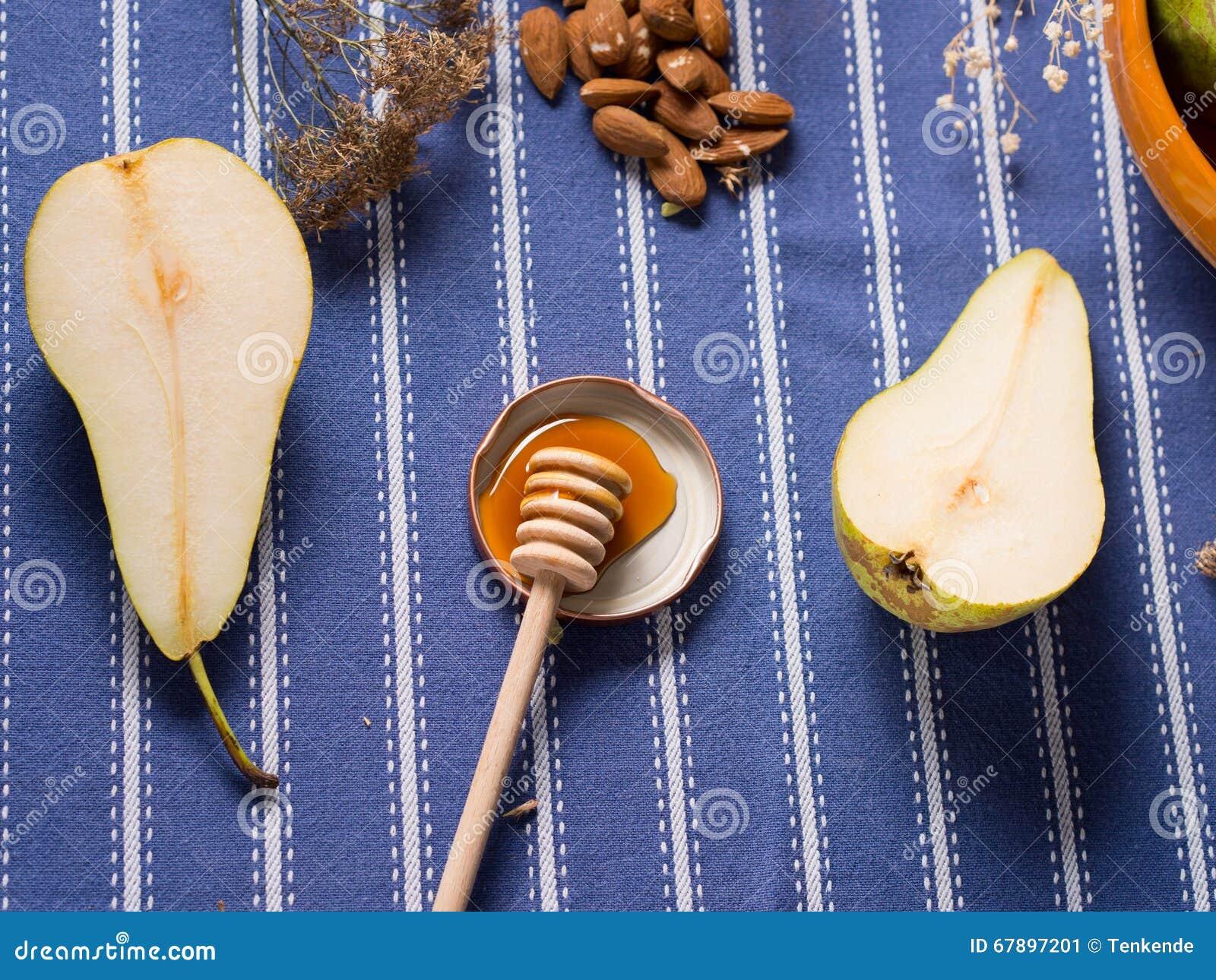 Päron och honung