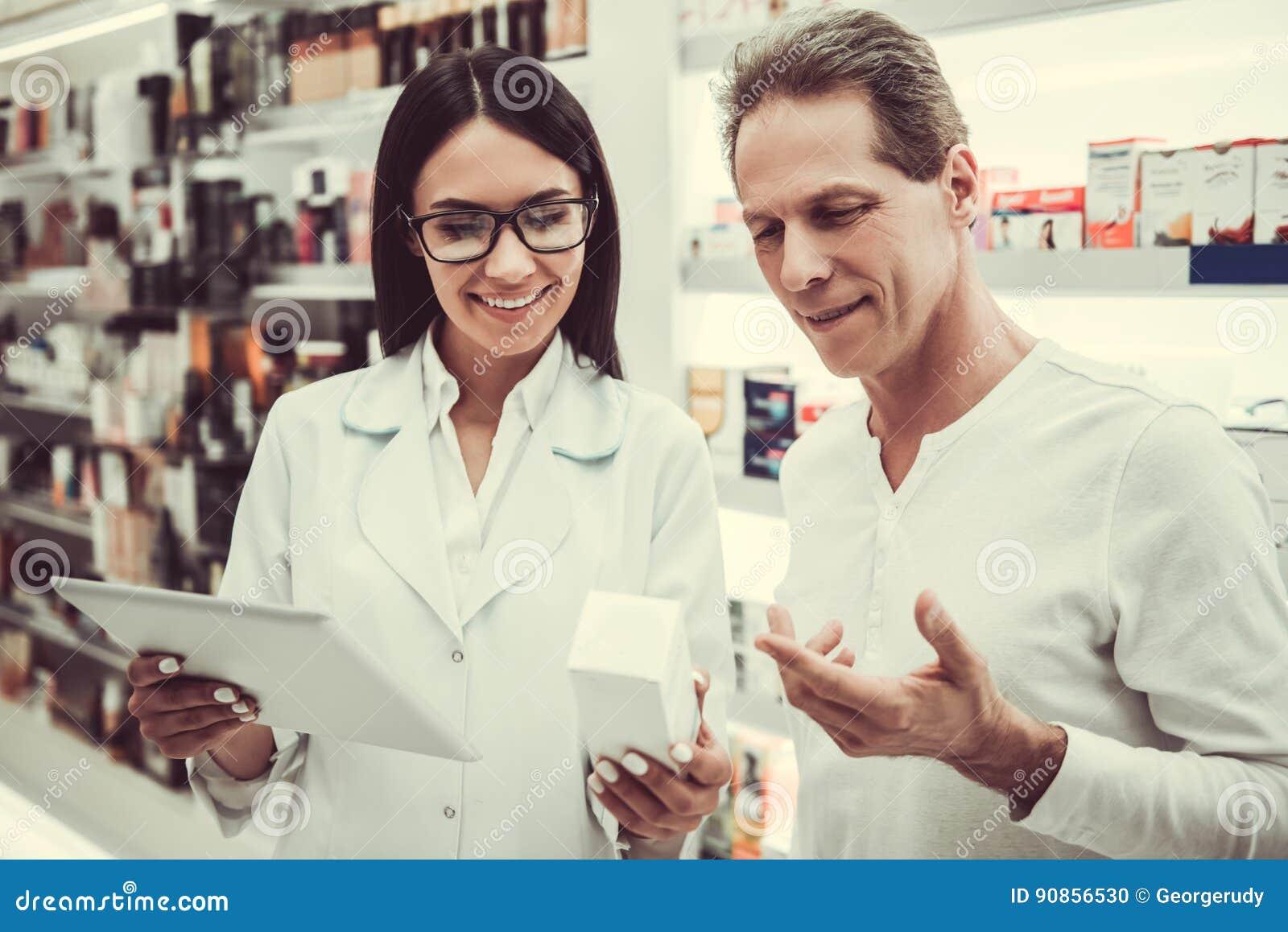 På apotek