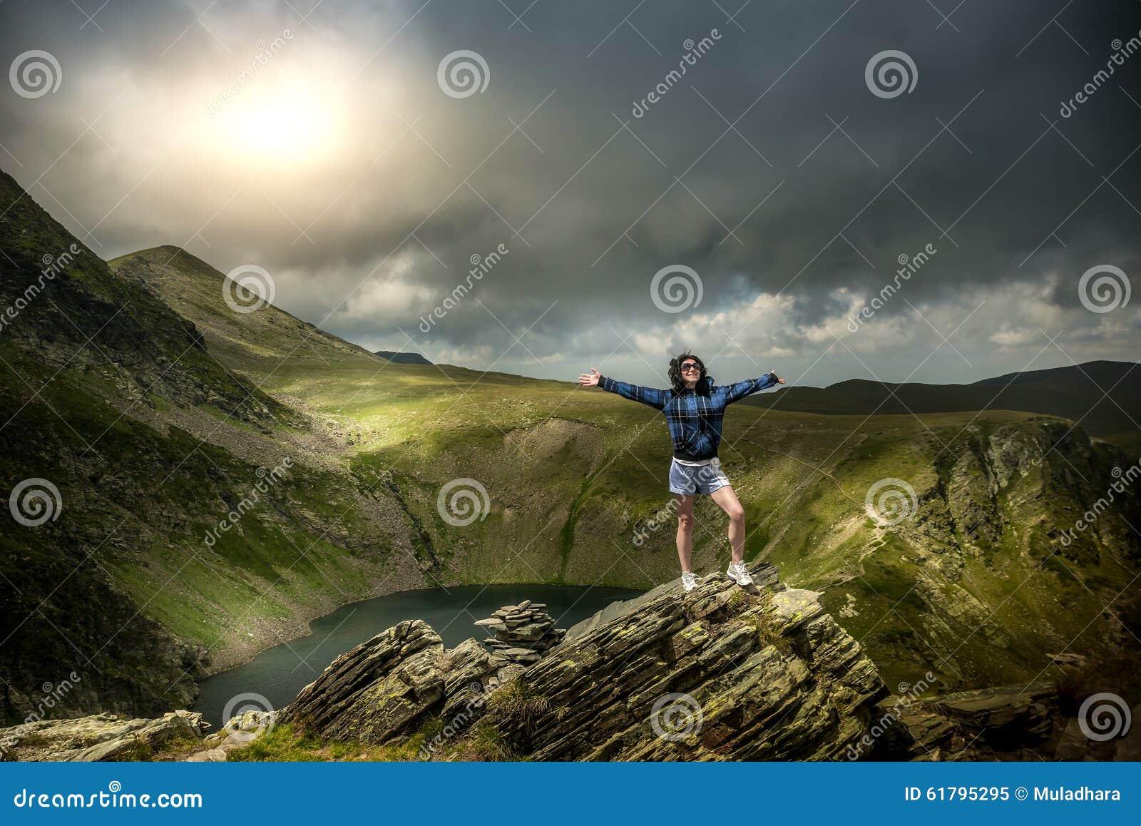 På blasten av berget