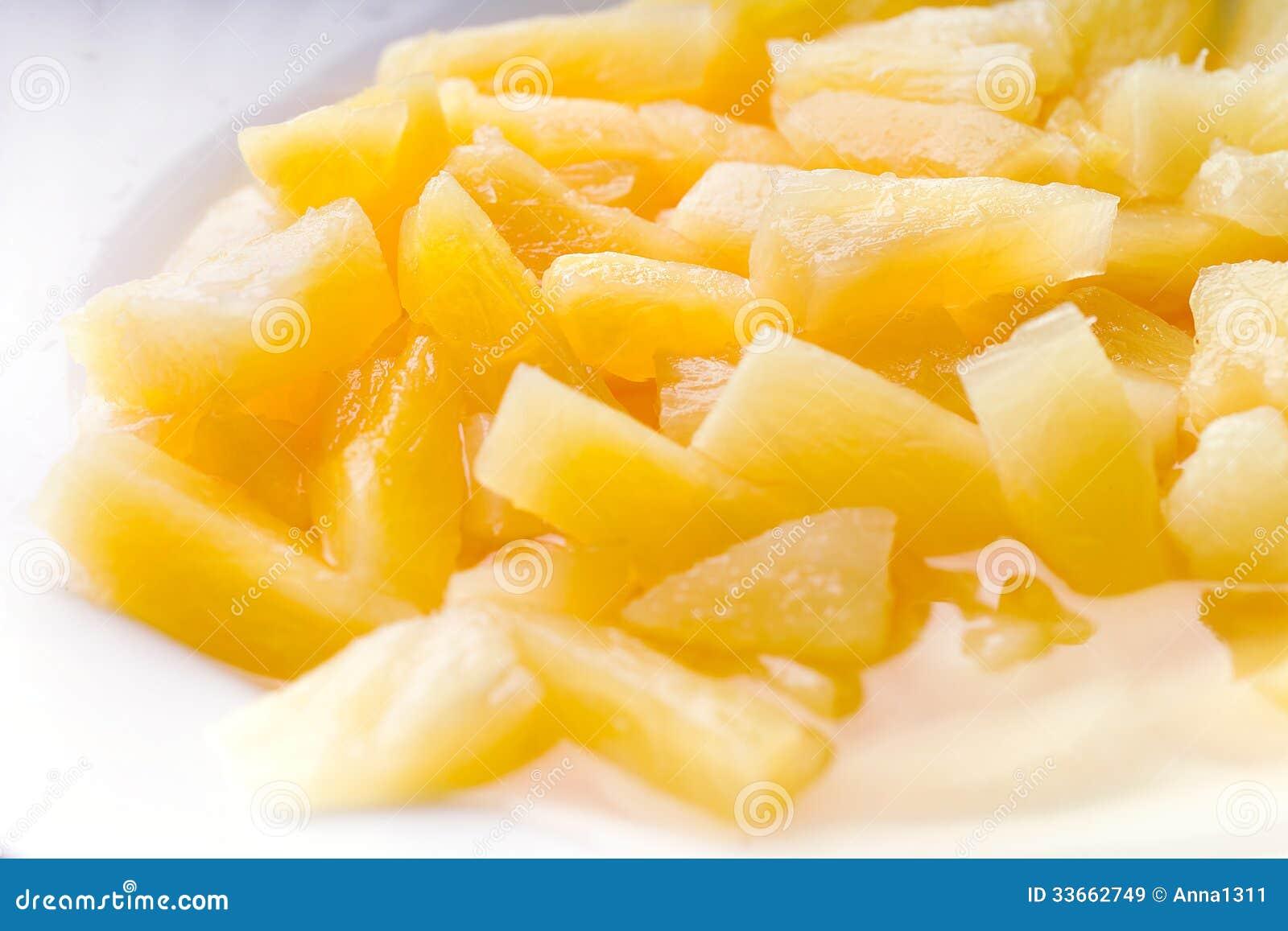 På burk ananas