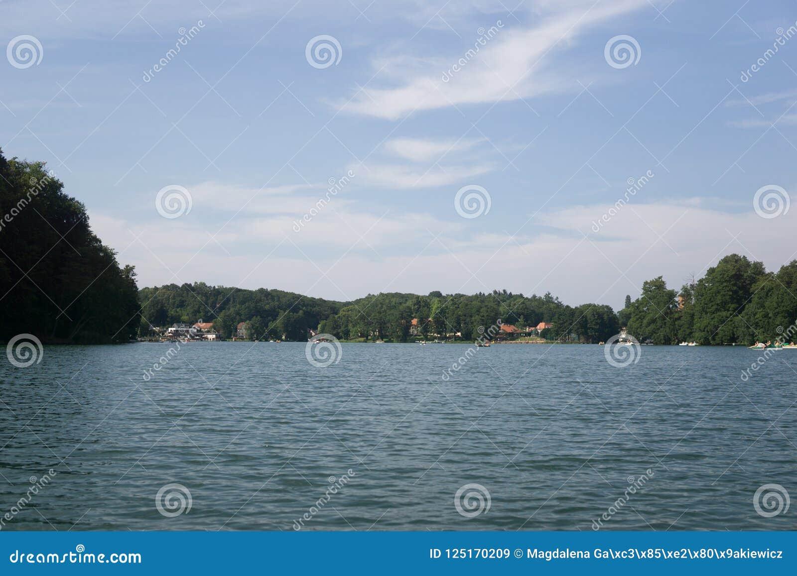 På sjön i Polen