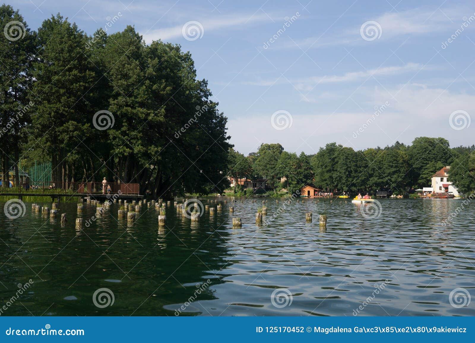 På sjön i sommar