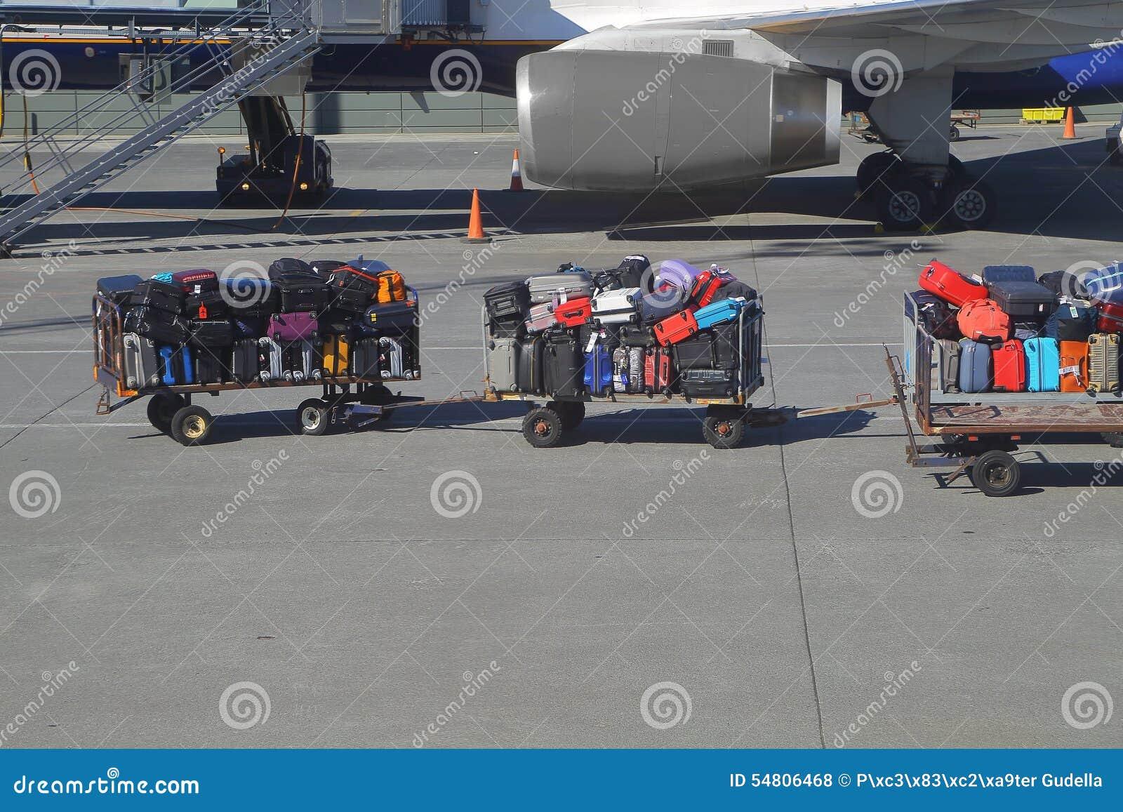 Påsar på en flygplats