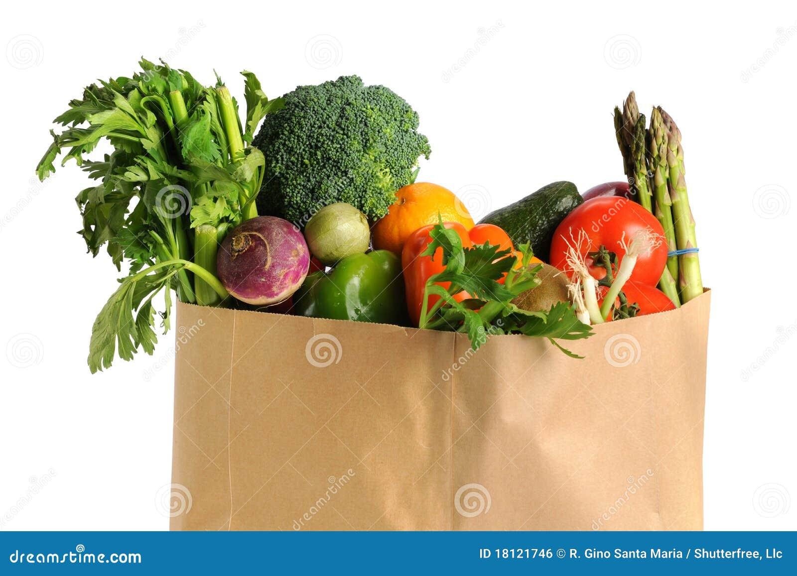 Påsen bär fruktt livsmedelsbutikgrönsaker
