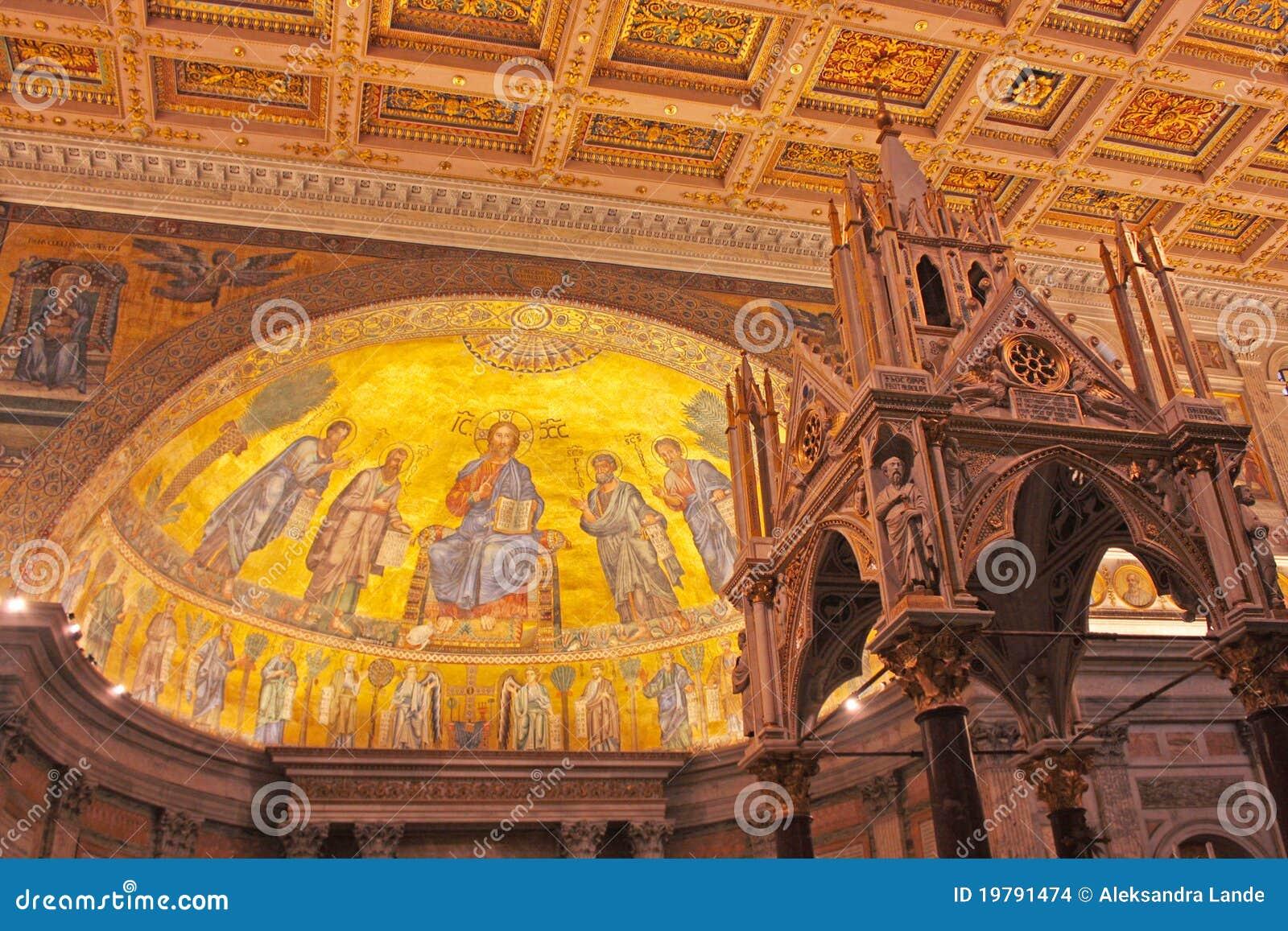 Påvlig paul för basilica saint