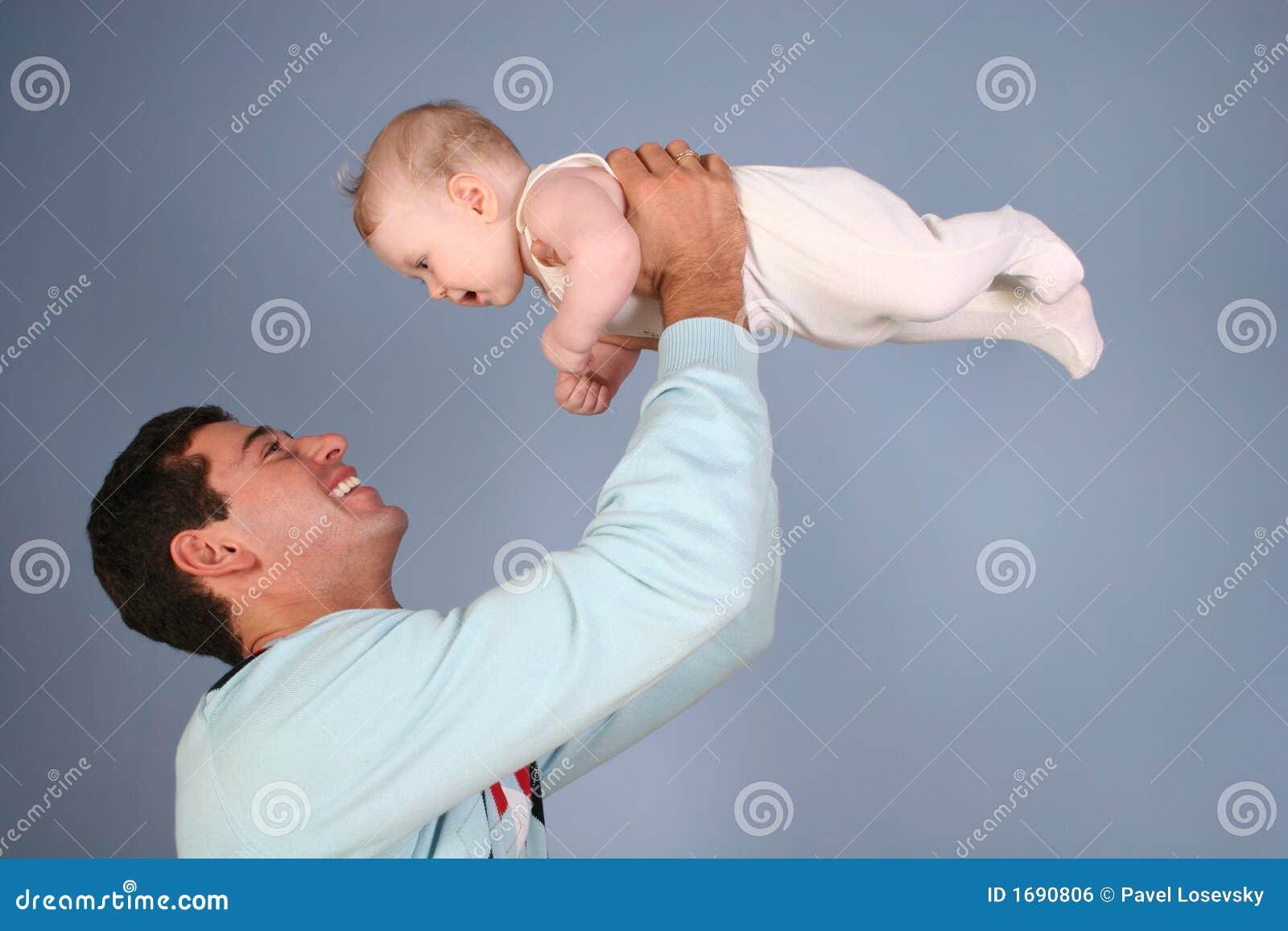 Père avec la chéri