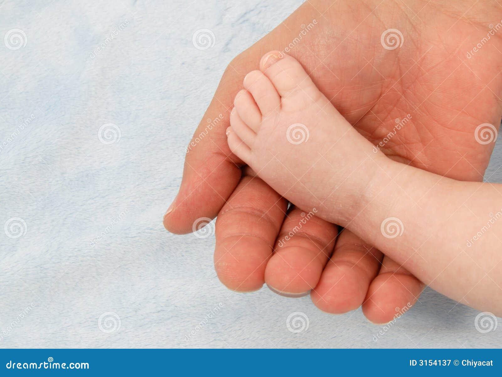 Pé do bebê