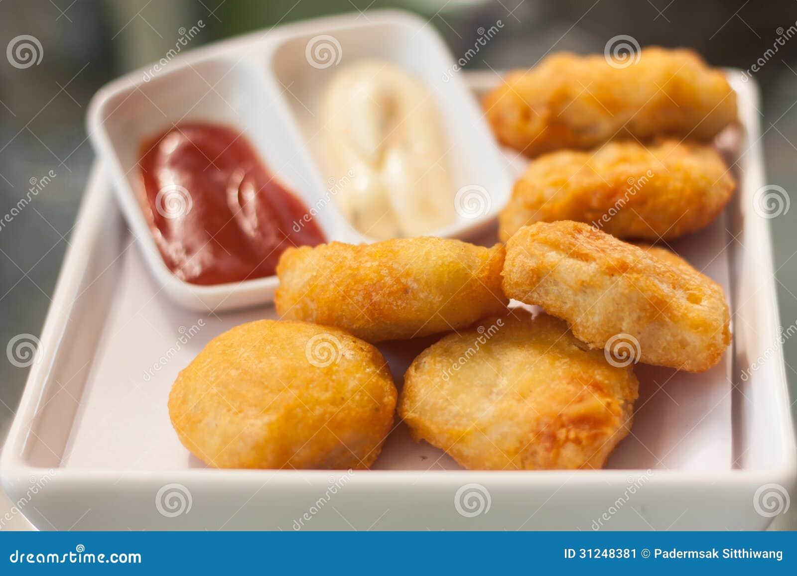 Pépites de Fried Chicken