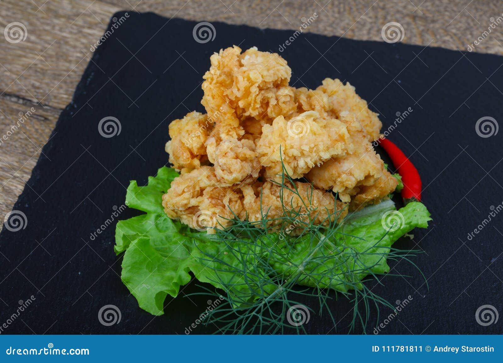 Pépites de poulet croustillantes