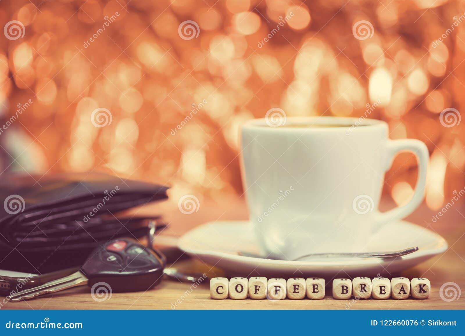 Périodes de café, pause-café