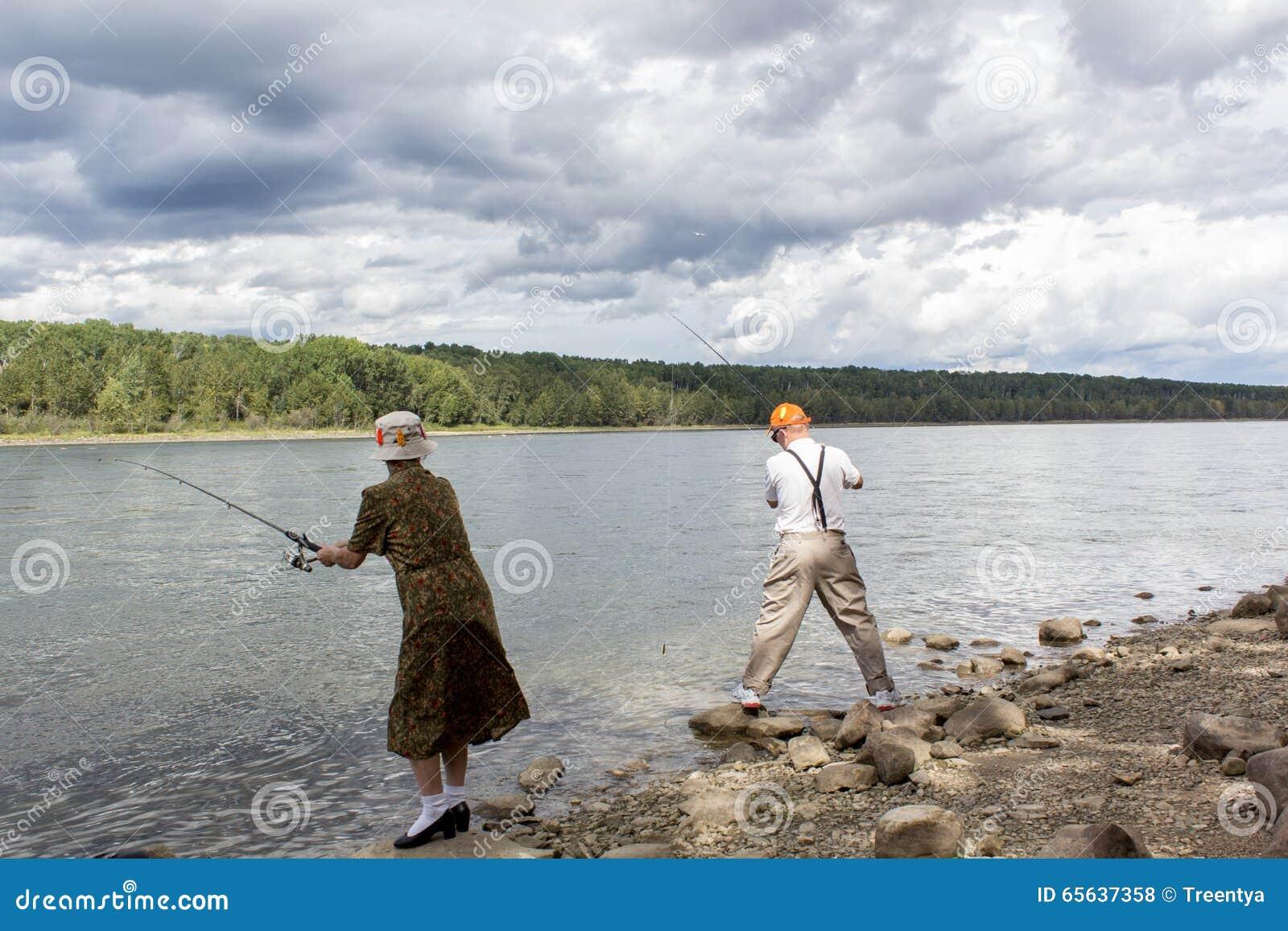 Pêche d homme et de femme
