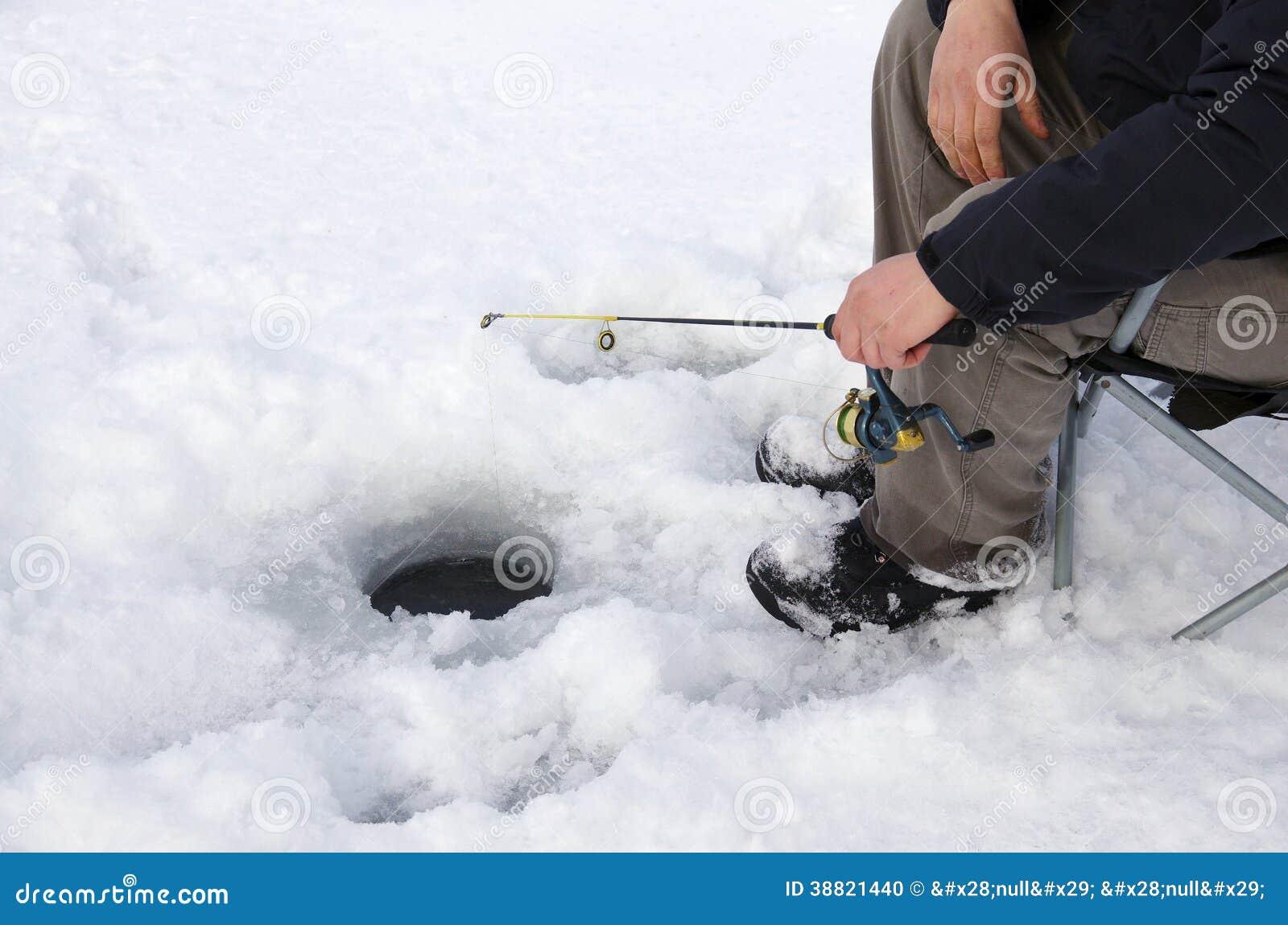 Pêche de glace