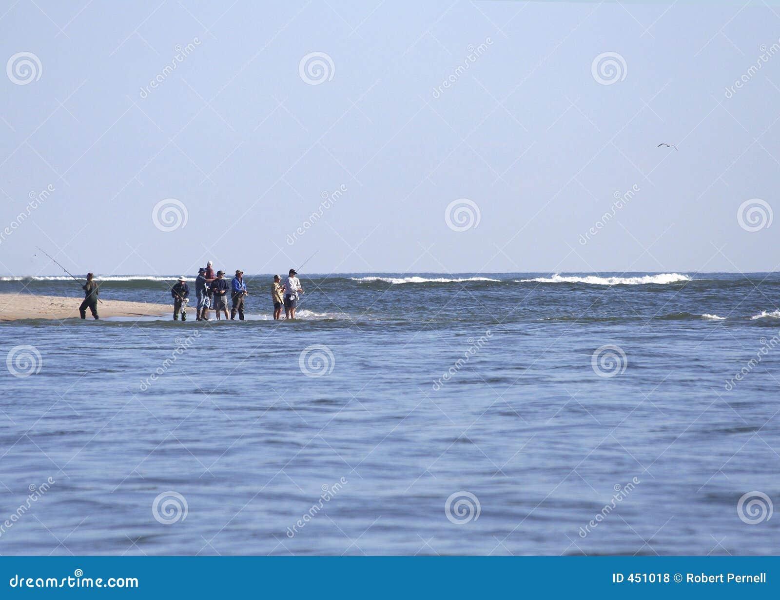 Pêche de vague déferlante