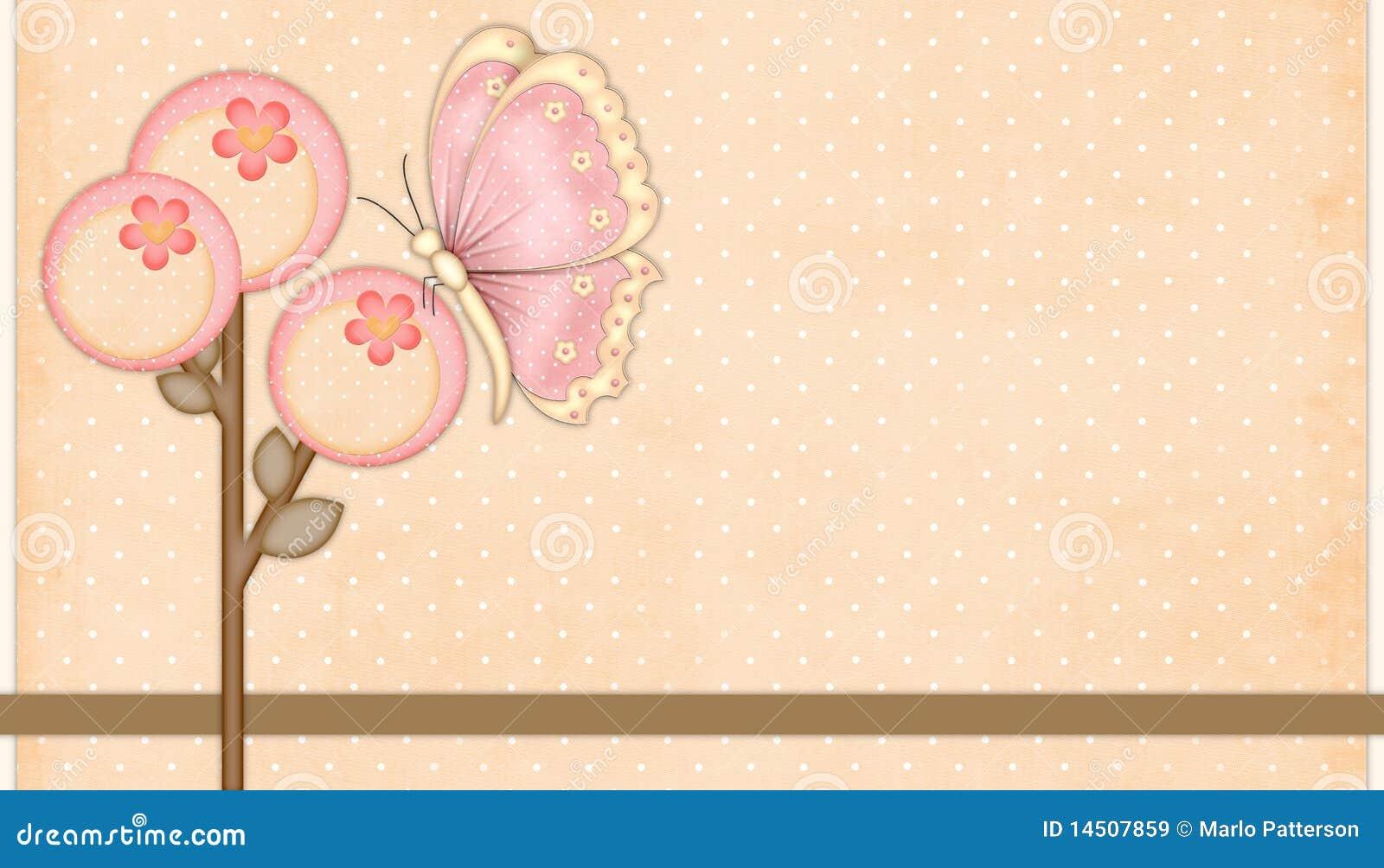 Pêche et fleurs roses avec le guindineau