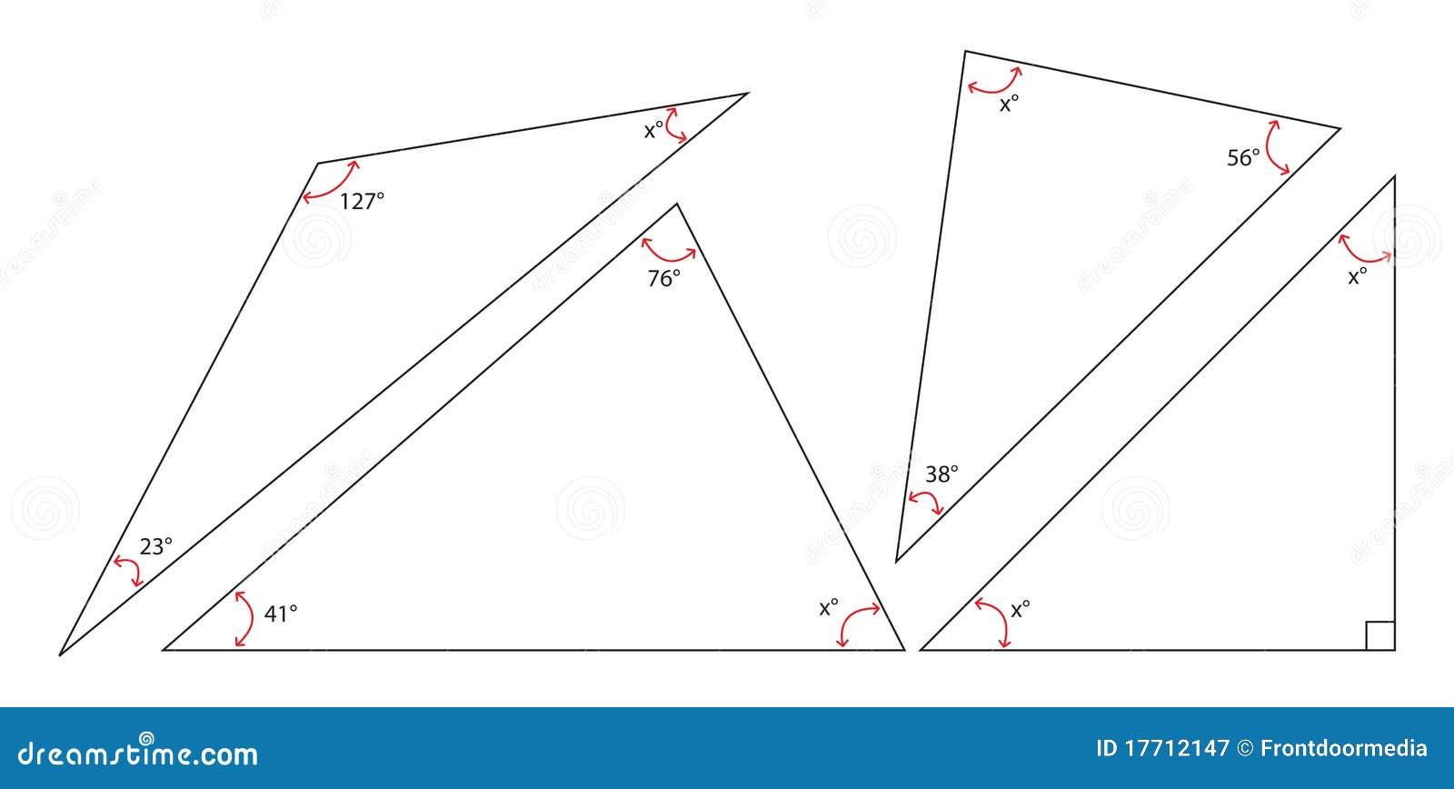 pêche la somme d'une triangle illustration de vecteur - illustration