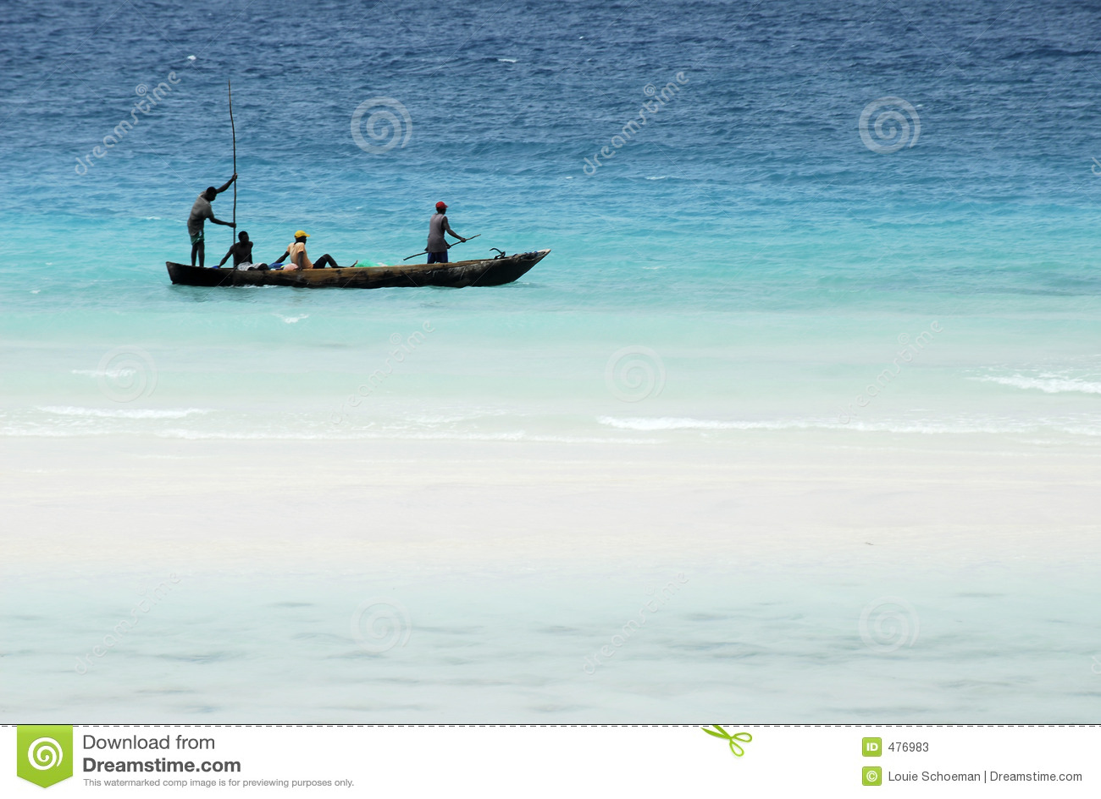 Pêche sur l île de Zanzibar
