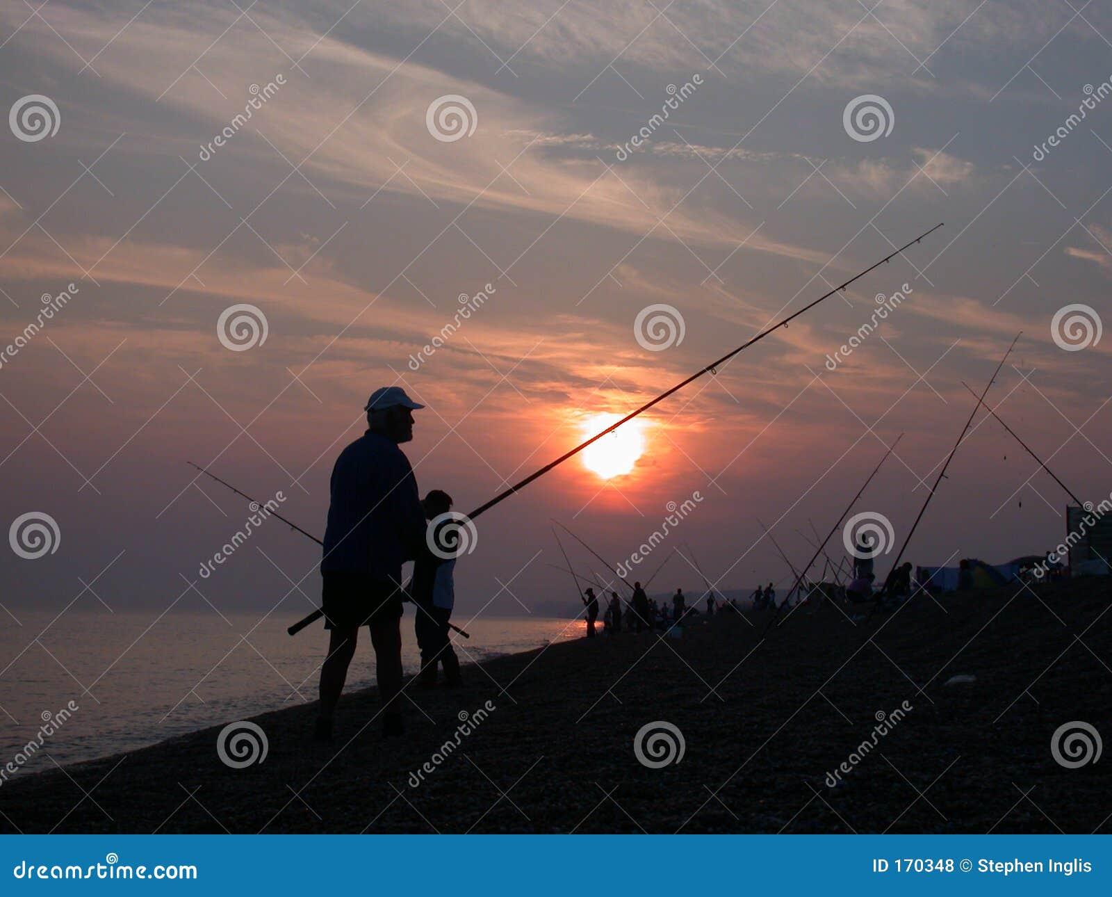 Pêche sur la côte