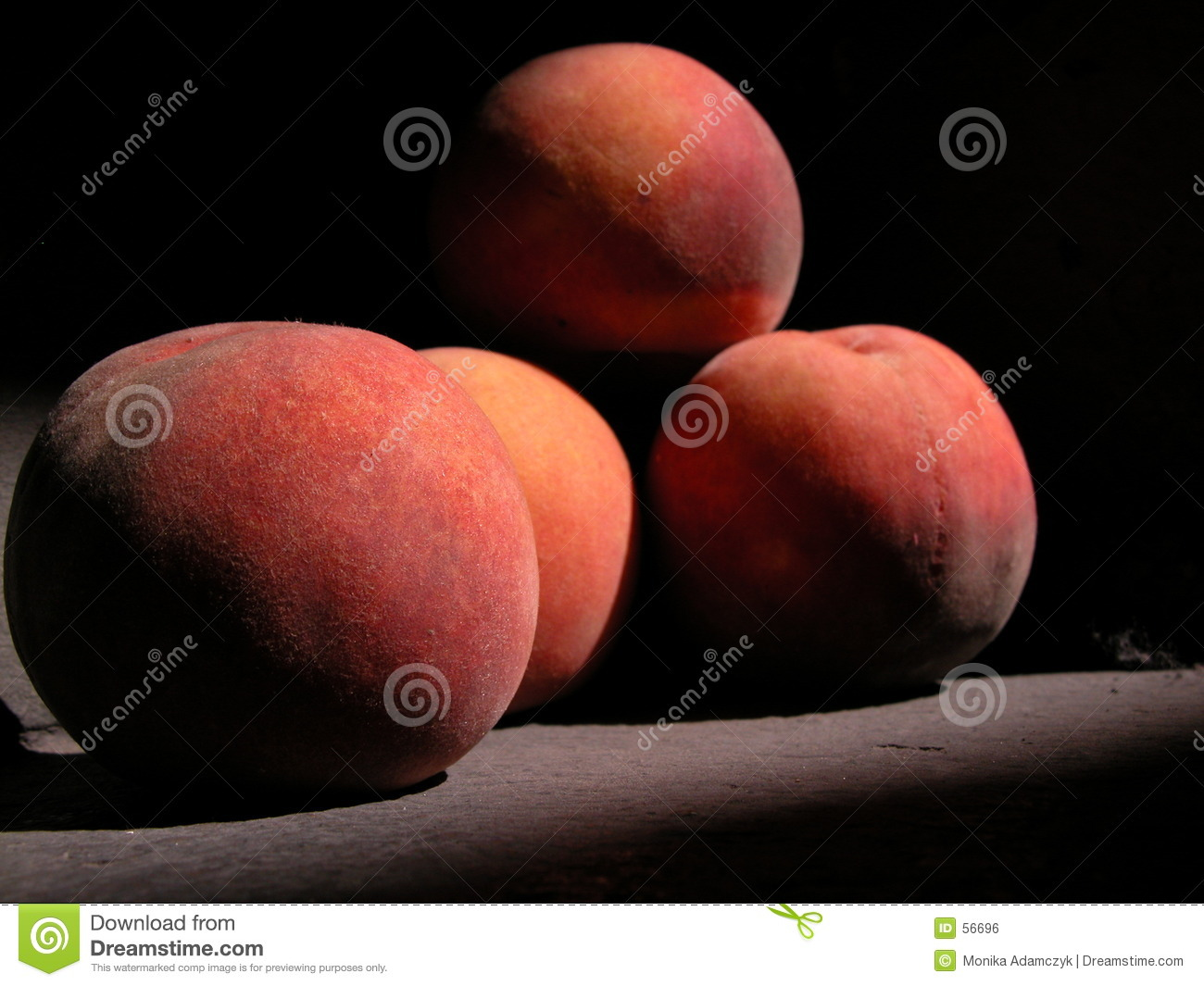 Download Pêches photo stock. Image du fruit, nectarines, sorts, pêches - 56696