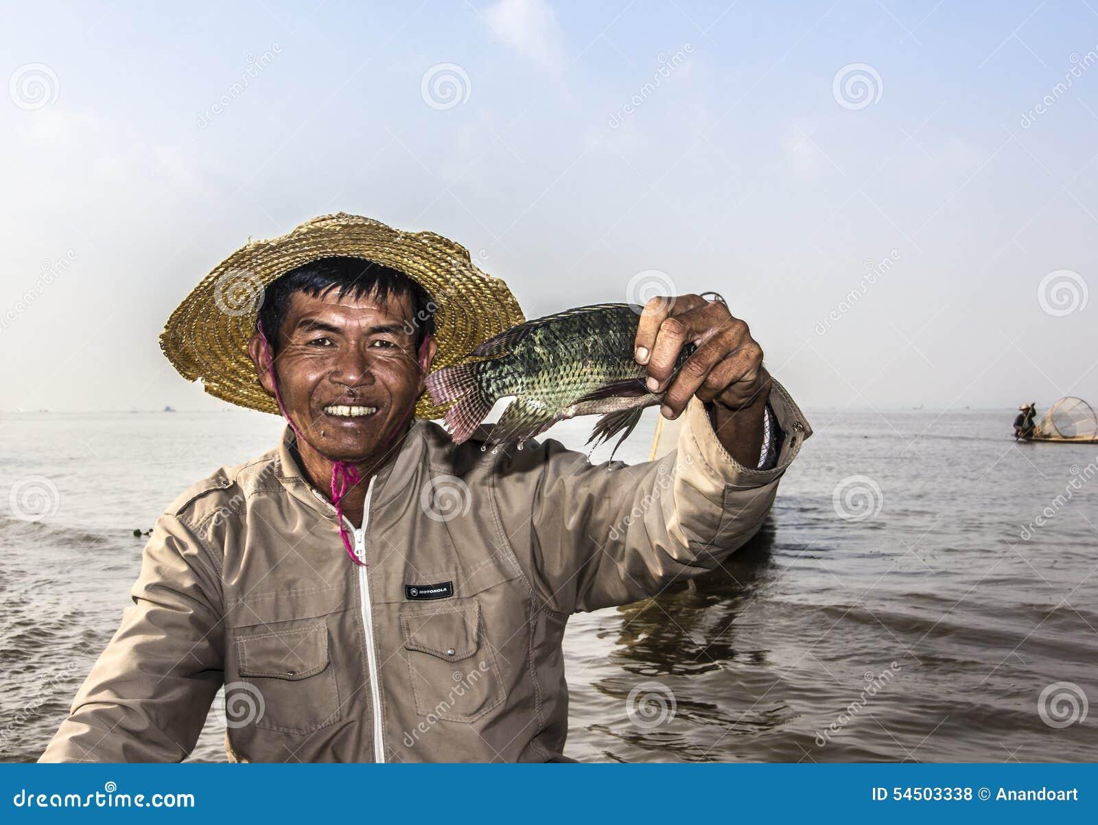 Pêcheur de Legrowing