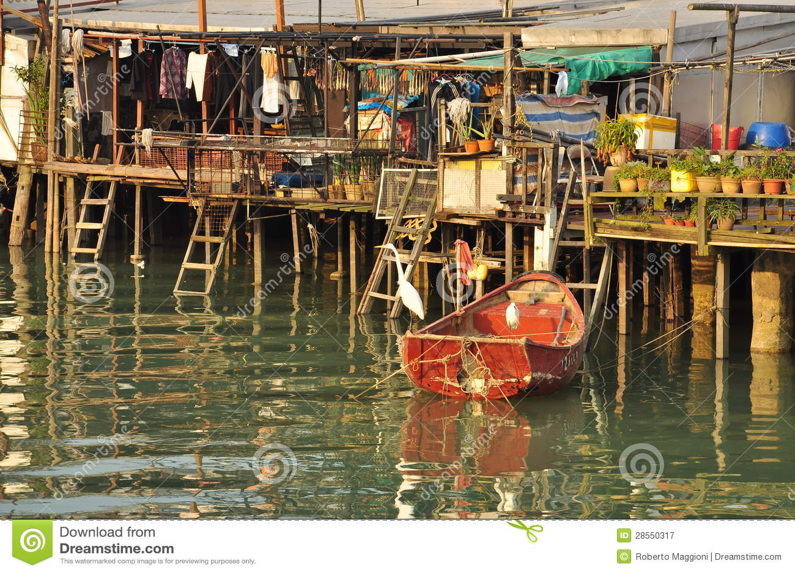 Pêcheurs village, Hong Kong de Tai O