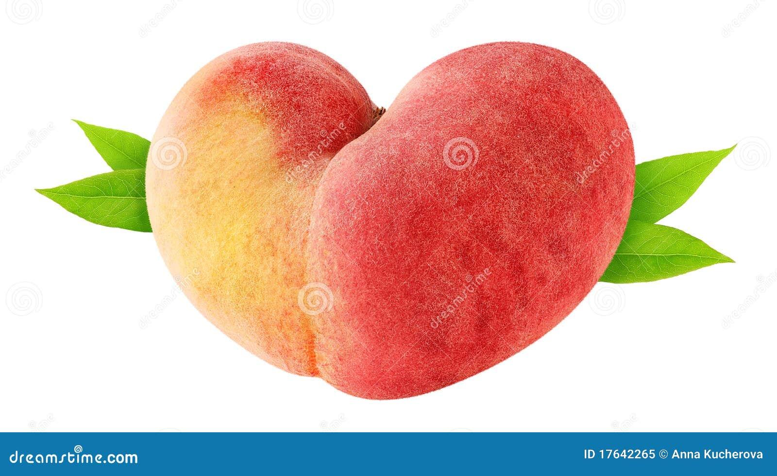 Pêssego Heart-shaped