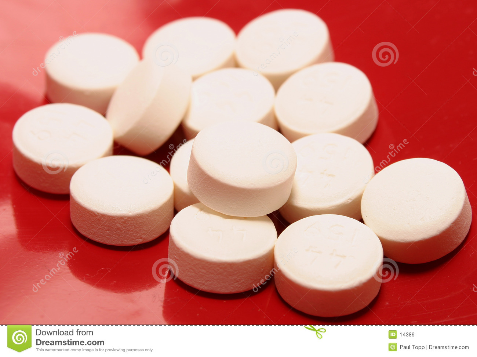 Píldoras blancas