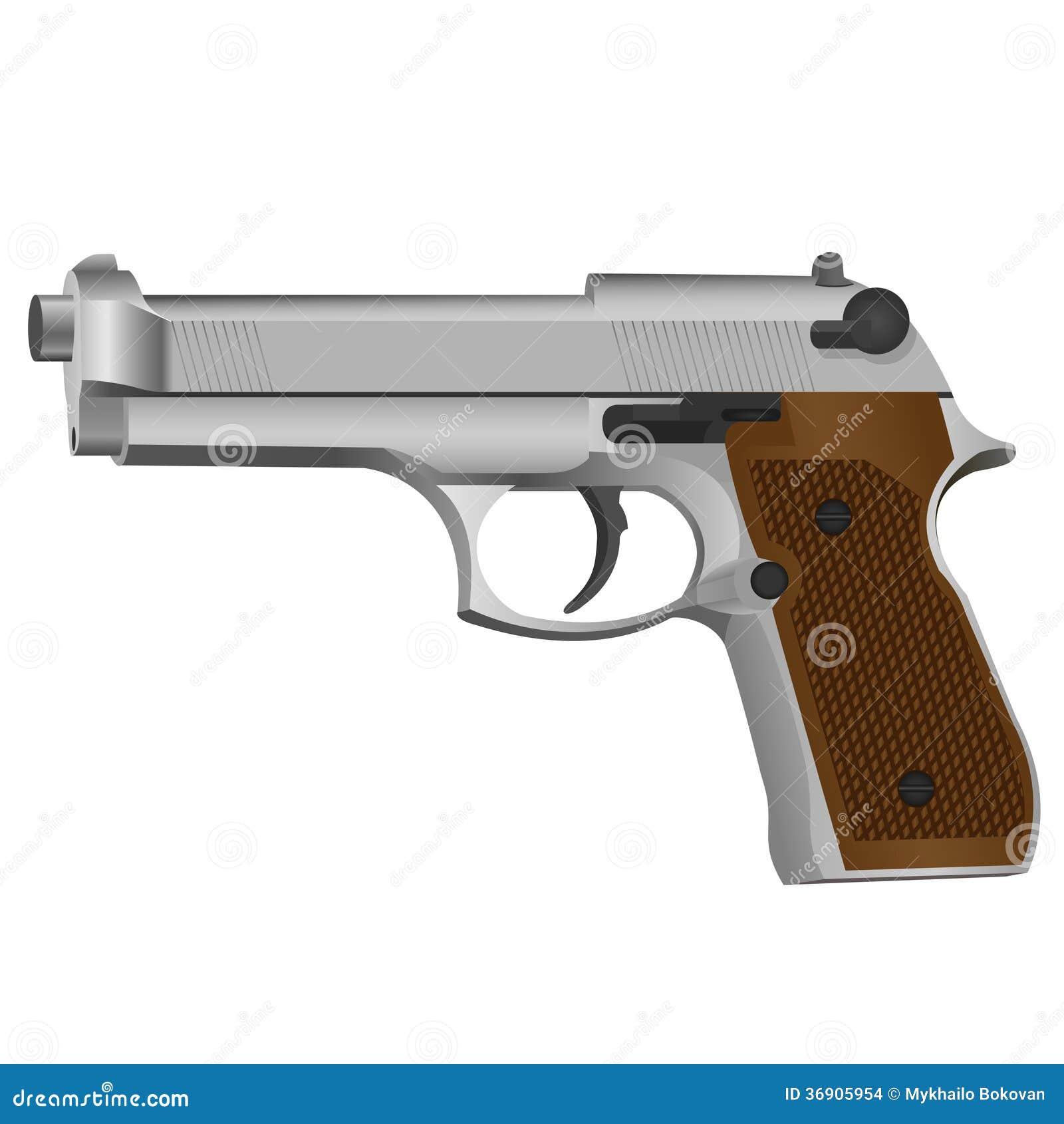 Półautomatyczny pistolet