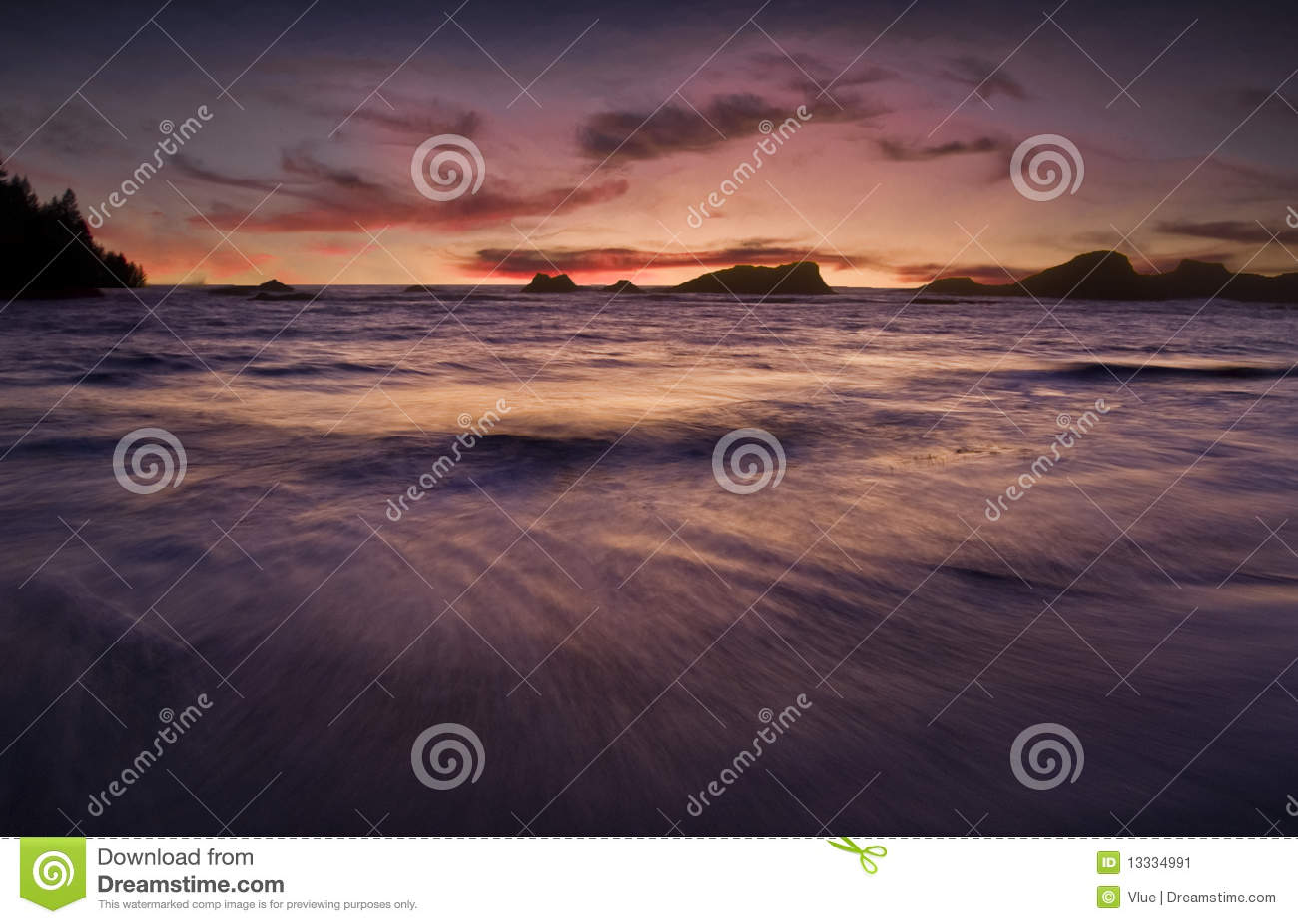 Półmroku morze
