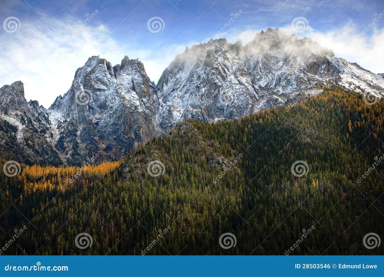 Północ Kaskadowe góry, Waszyngton