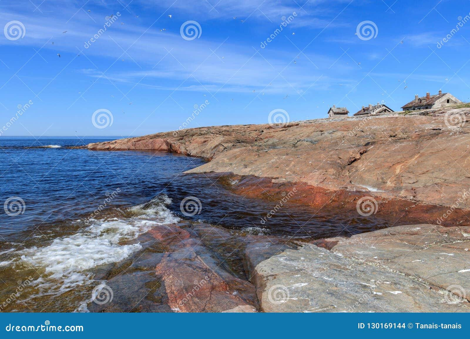 Północna kamienista wyspa