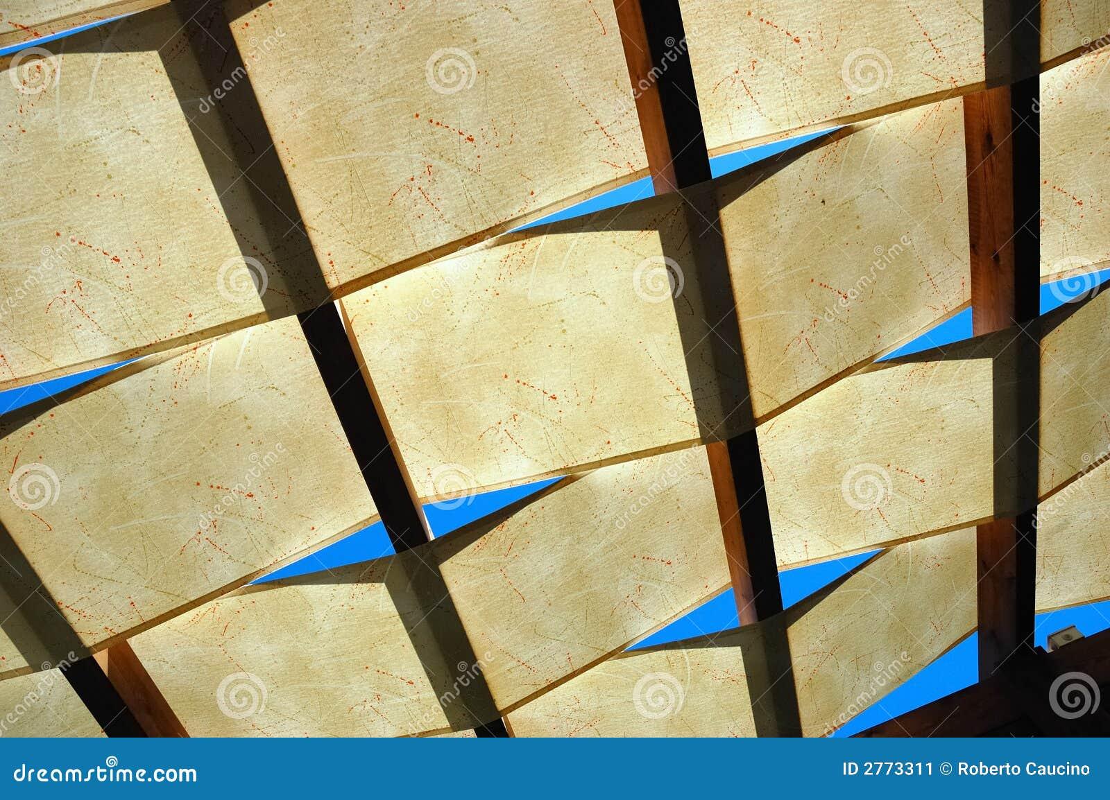 Półprzezroczysty dach
