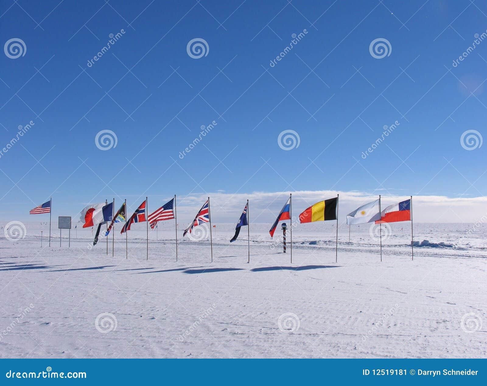 Pôle du sud cérémonieux