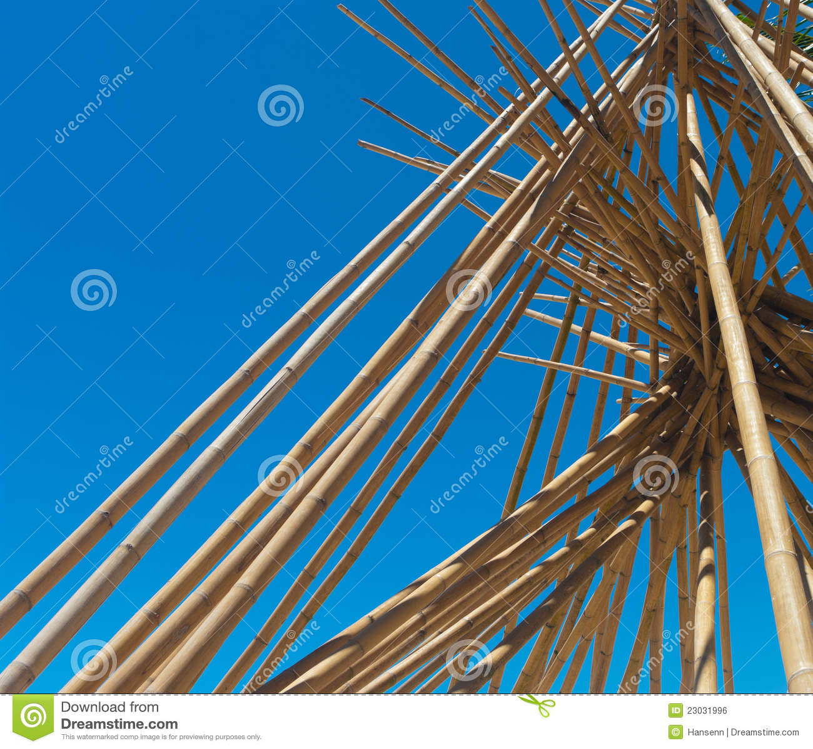 Pôles en bambou