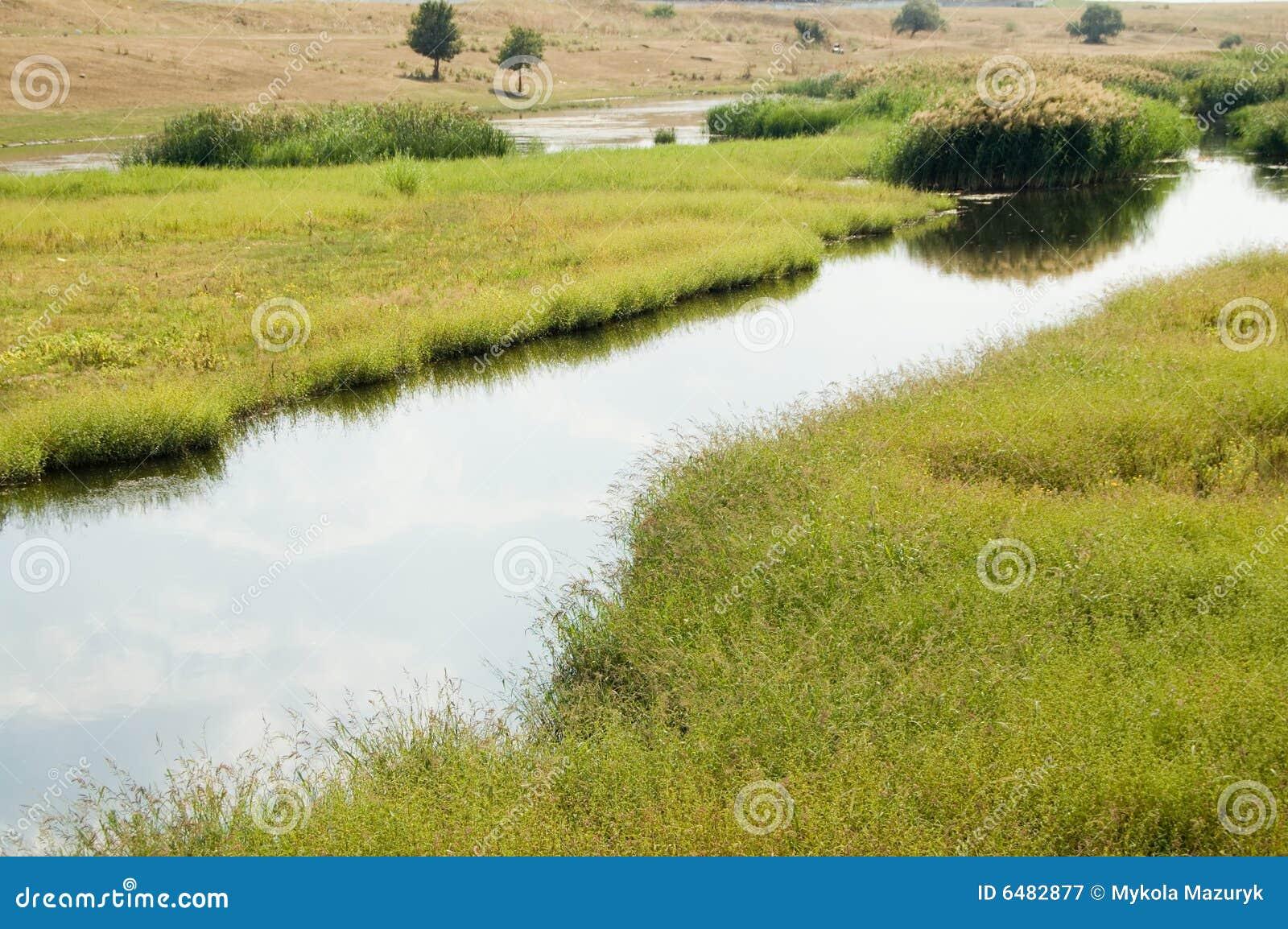 Płaska rzeki