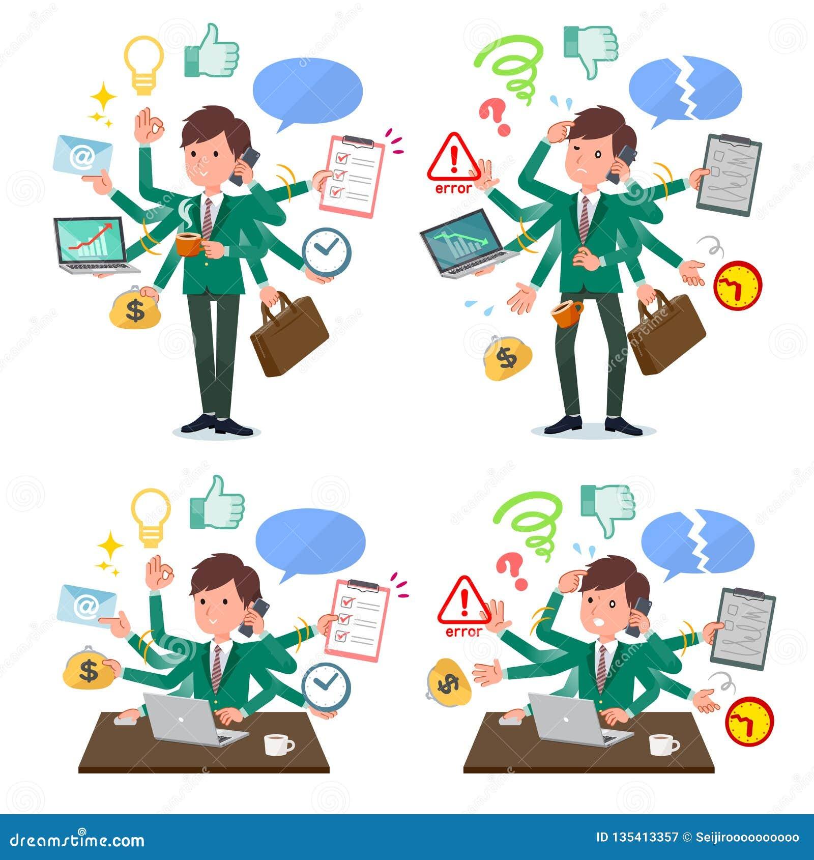 Płaski typ szkolnej chłopiec zieleni Blazer_mulch zadania biuro