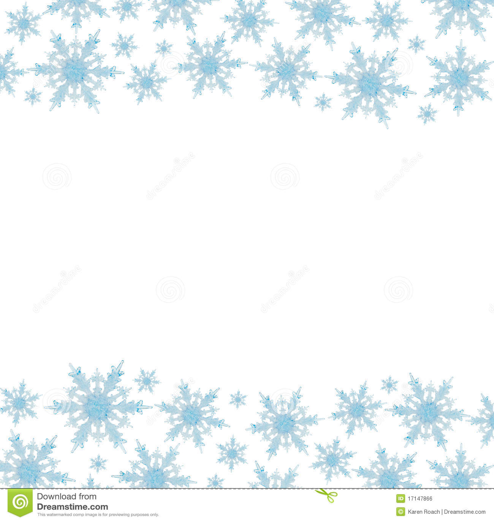 Płatek śniegu Granica