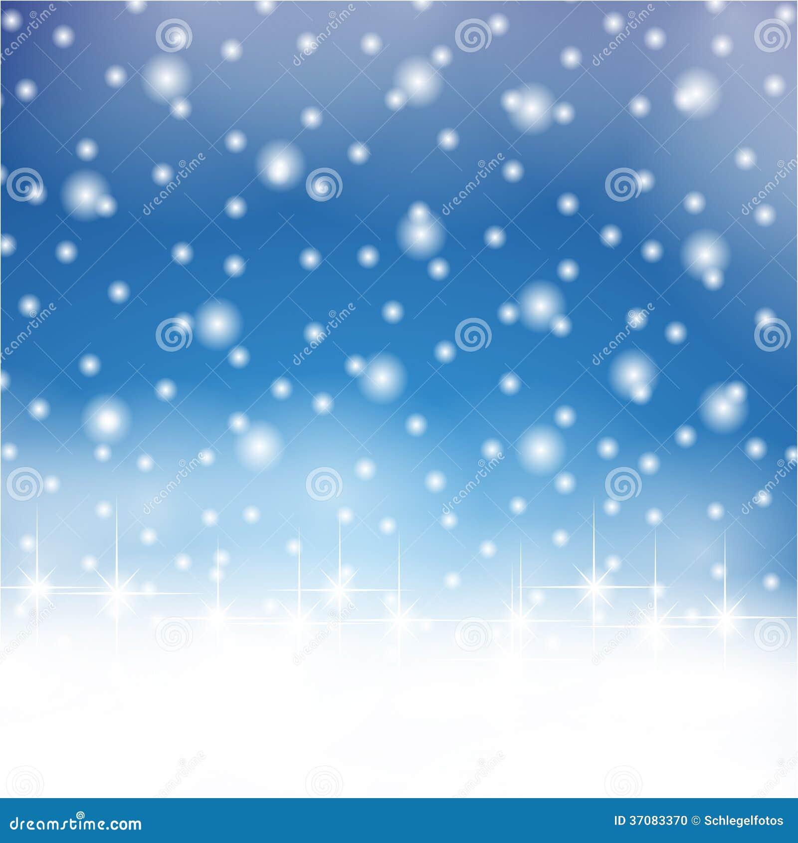 Download Płatek śniegu na niebie ilustracji. Ilustracja złożonej z burza - 37083370