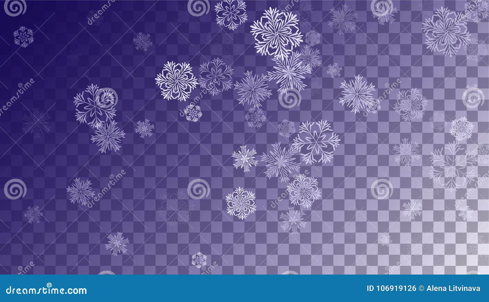 Płatków śniegu bożych narodzeń tło