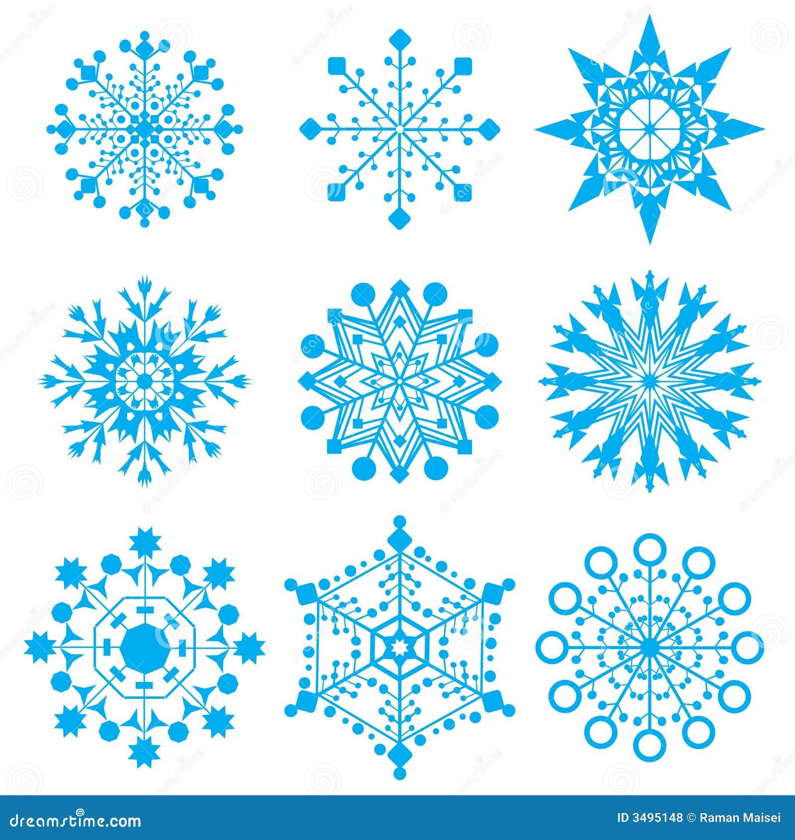 Płatki śnieżni