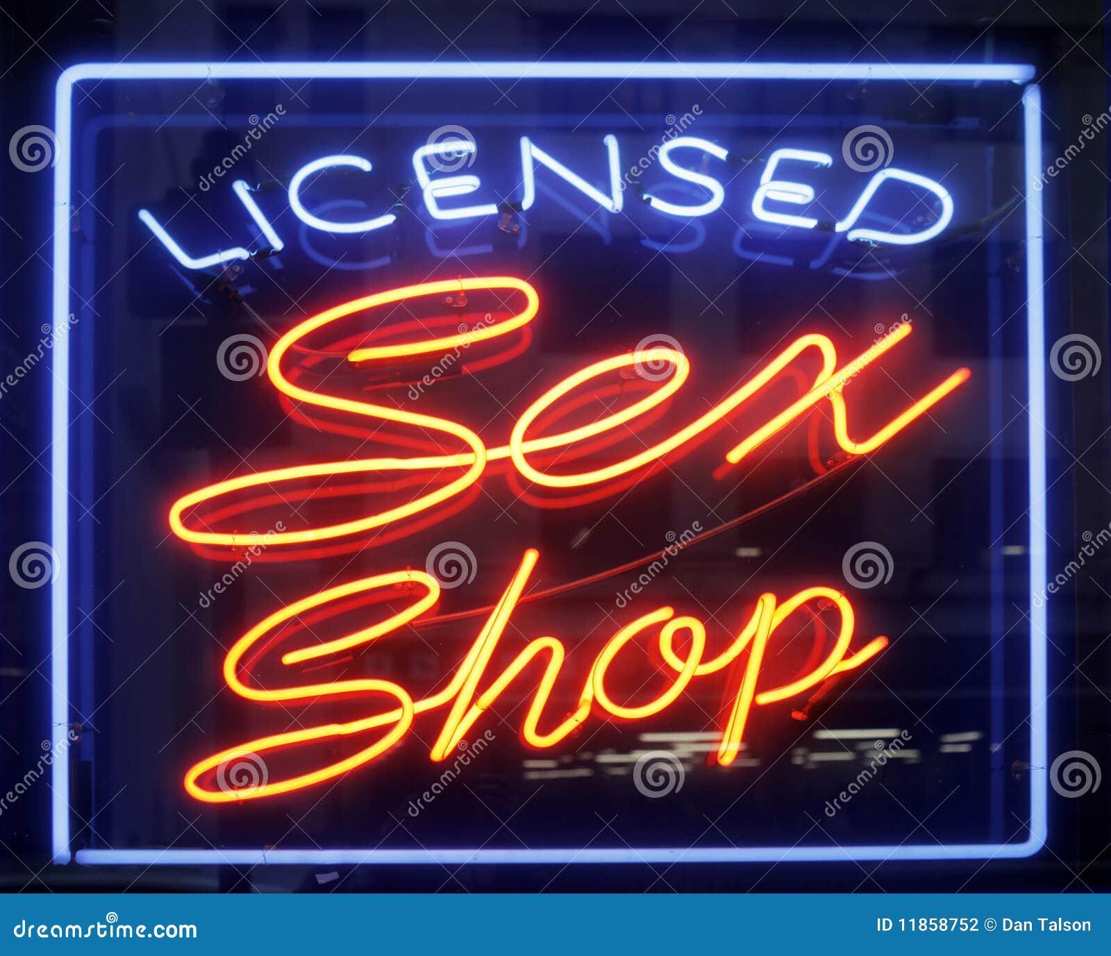 Płci sklepu znak