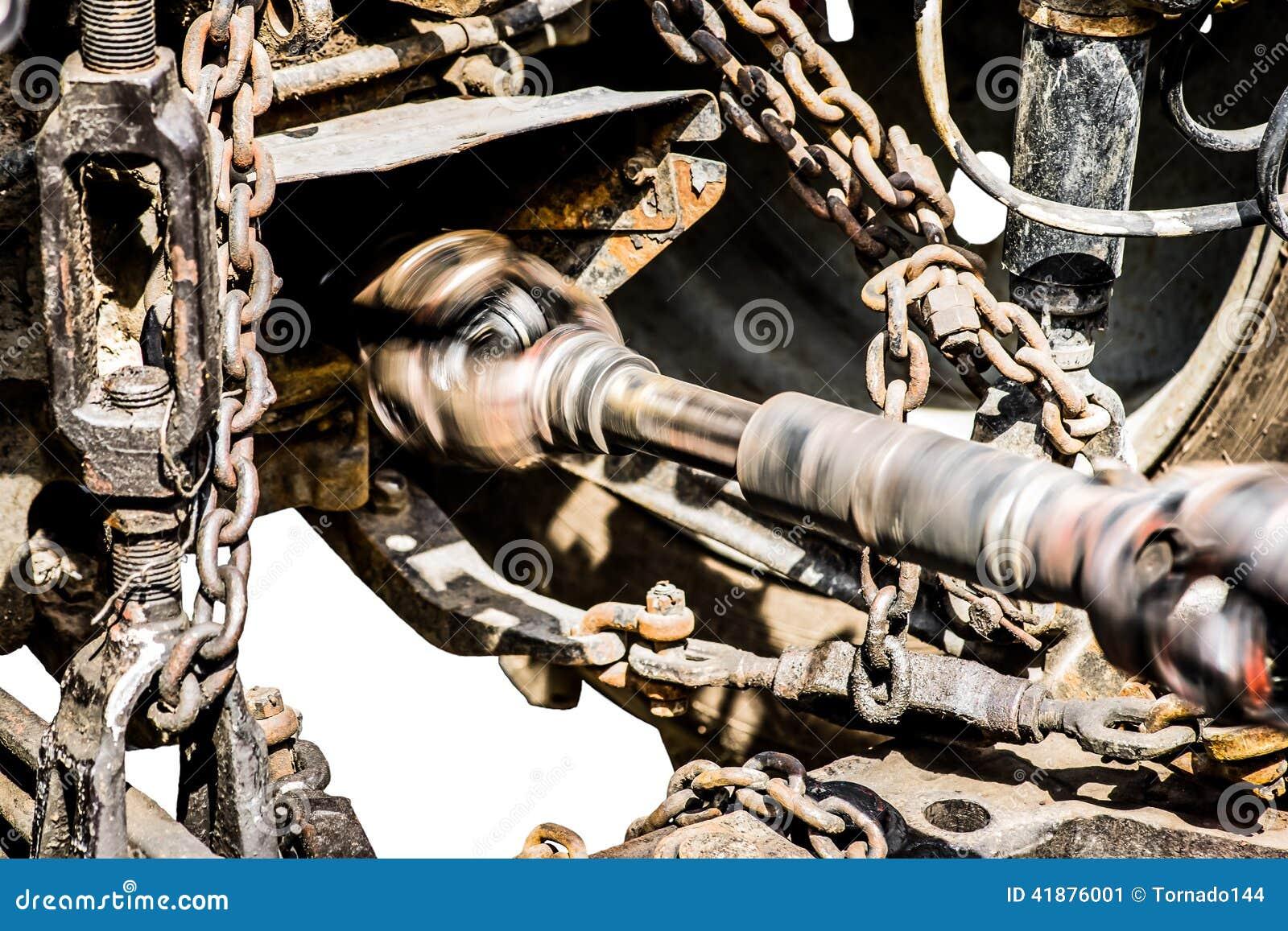 Płodozmienny prowadnikowy dyszel stary kołowy ciągnik