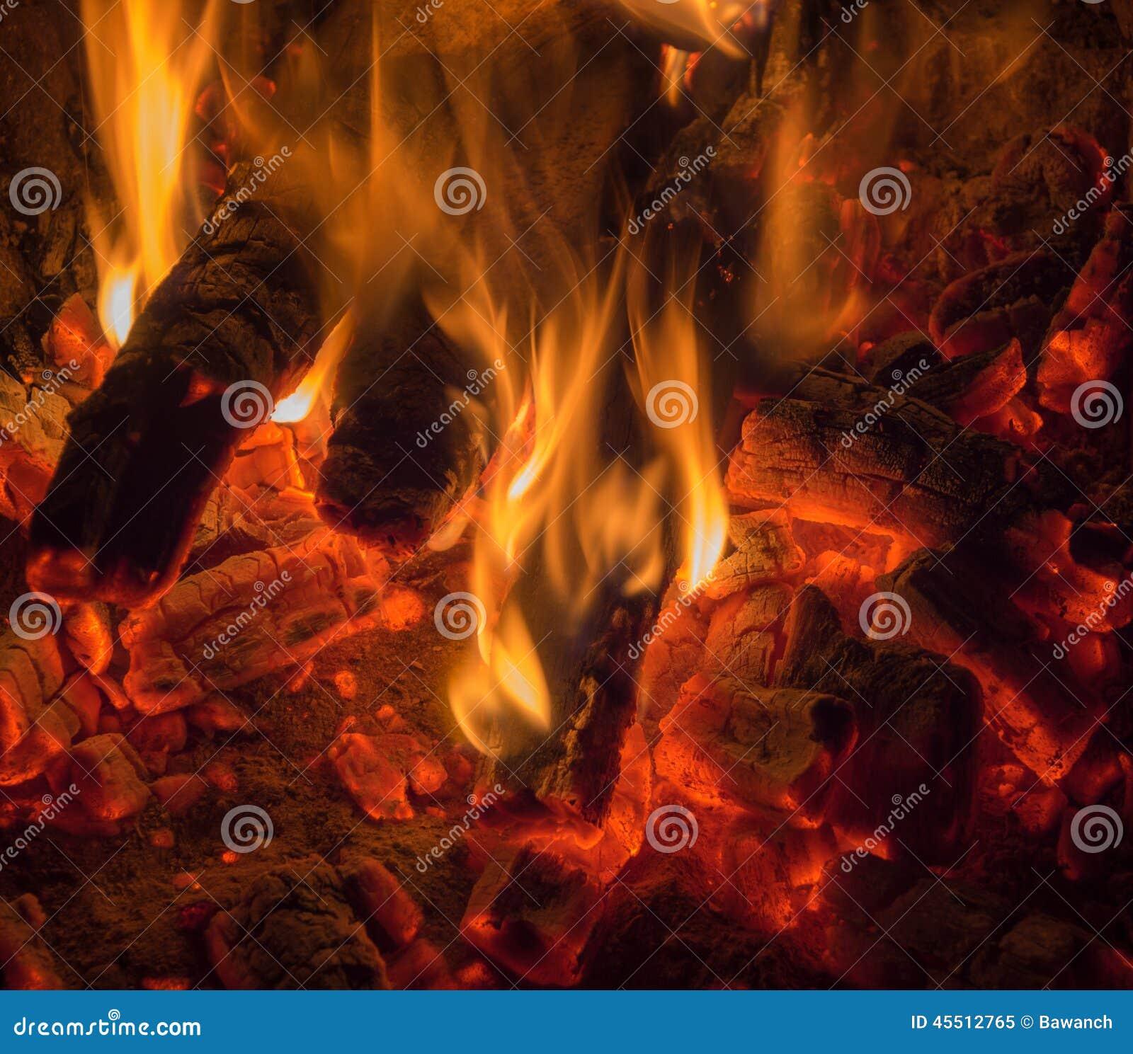 Płomieni węgle