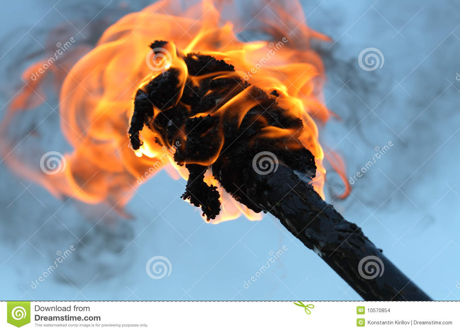 Płomienna pochodnia